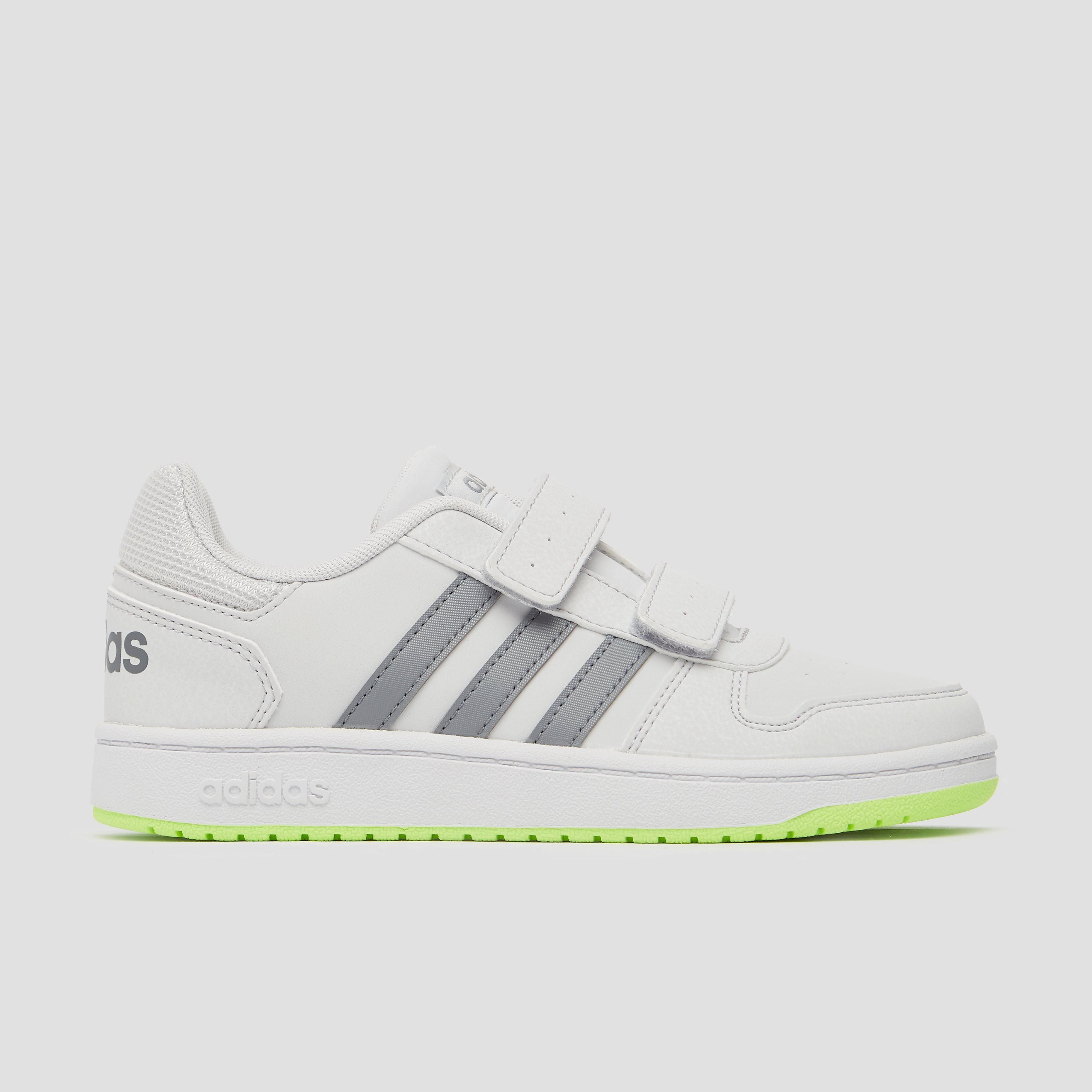 adidas Hoops 2.0 sneakers wit/grijs kinderen Kinderen