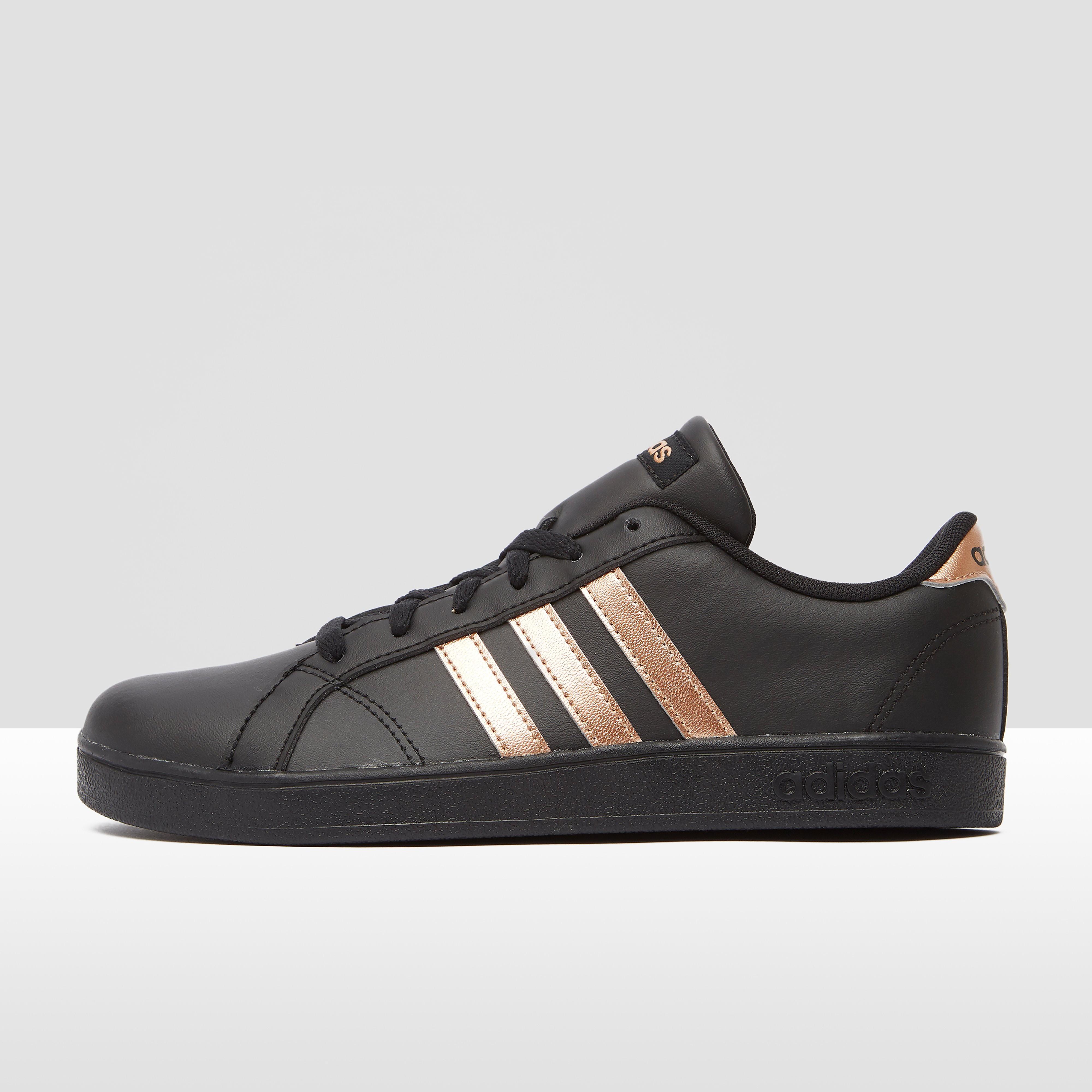 Baseline sneakers zwart-goud kinderen