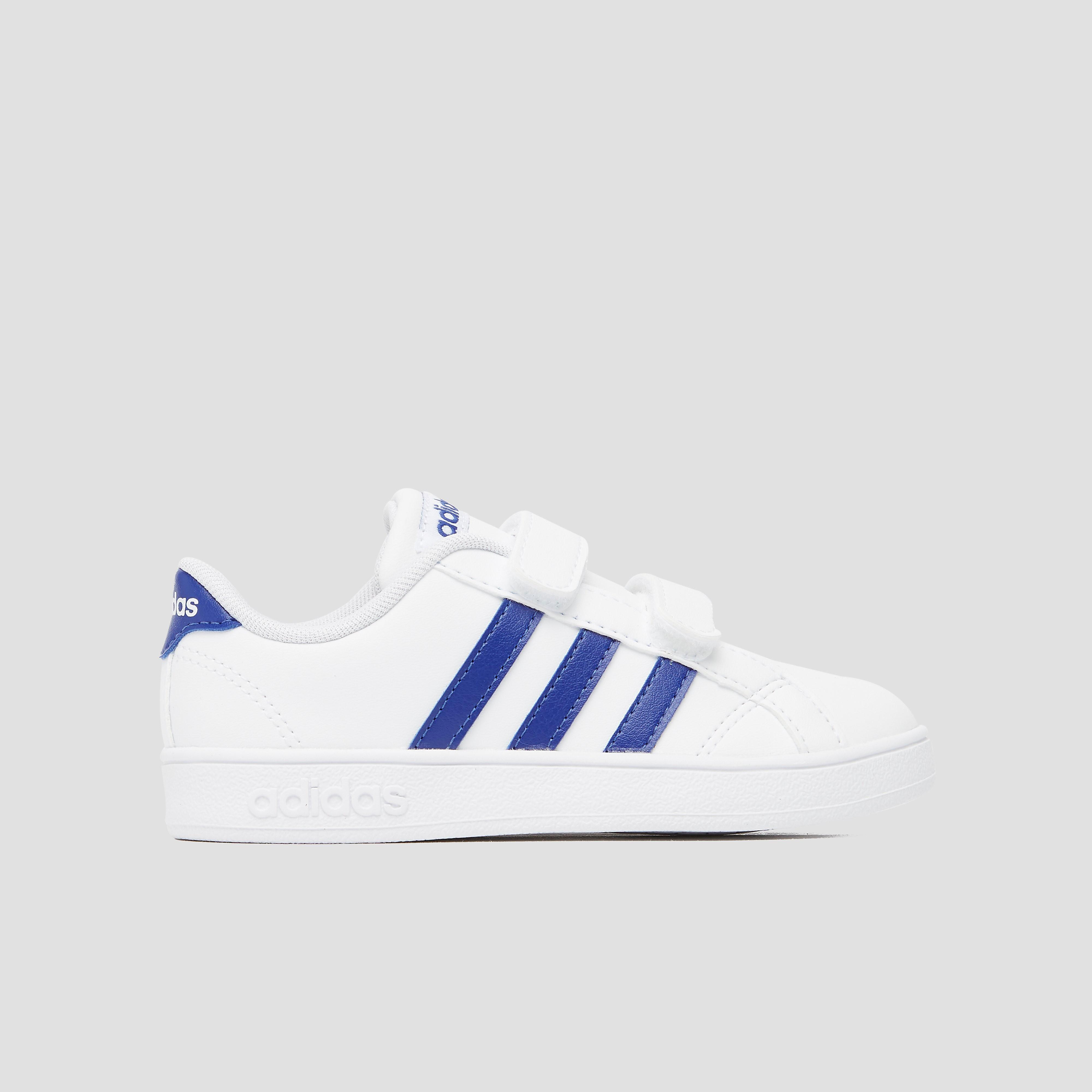 adidas Baseline cmf sneakers wit-blauw baby Kinderen