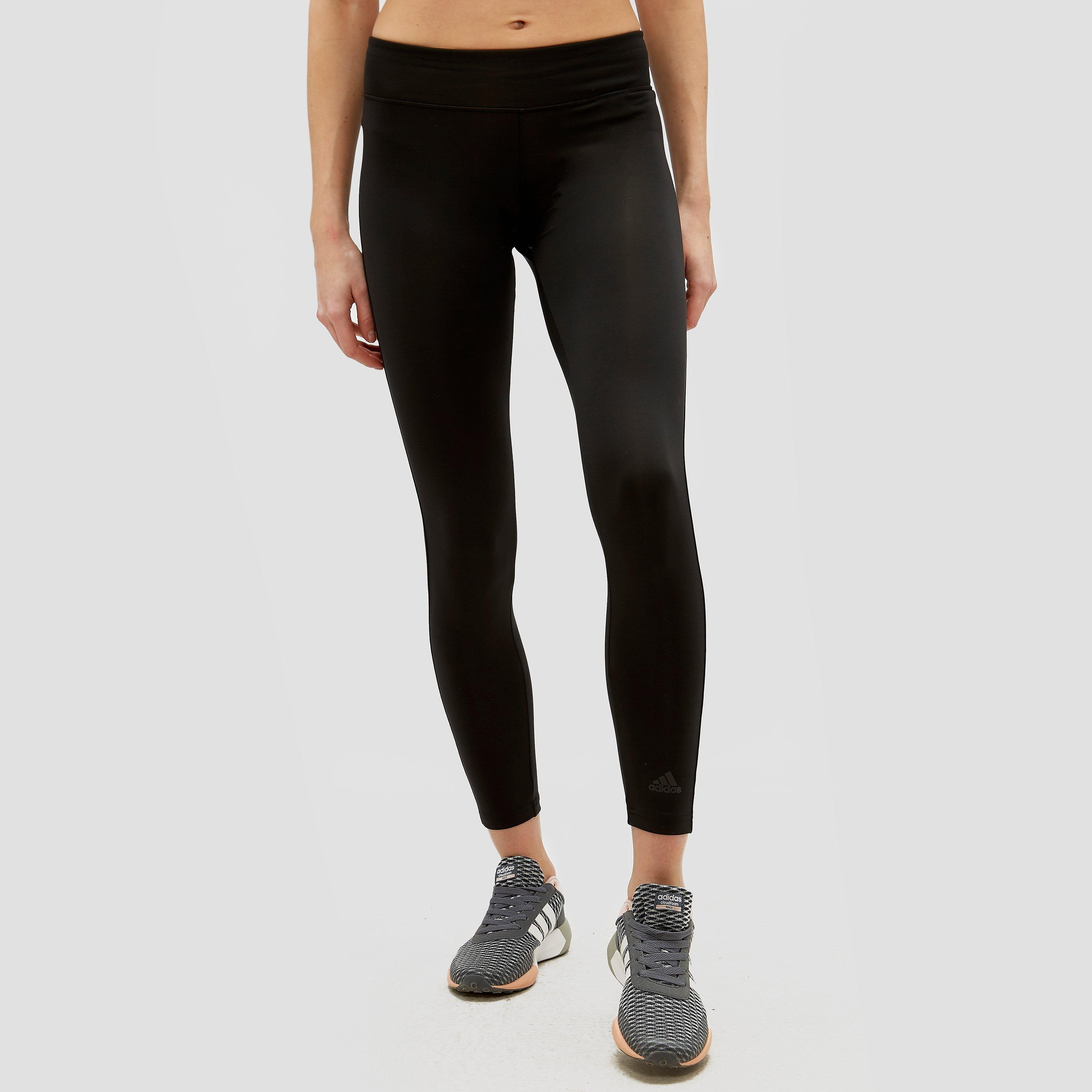 adidas D2M Long Tights, Zwart, XS, Female, Training
