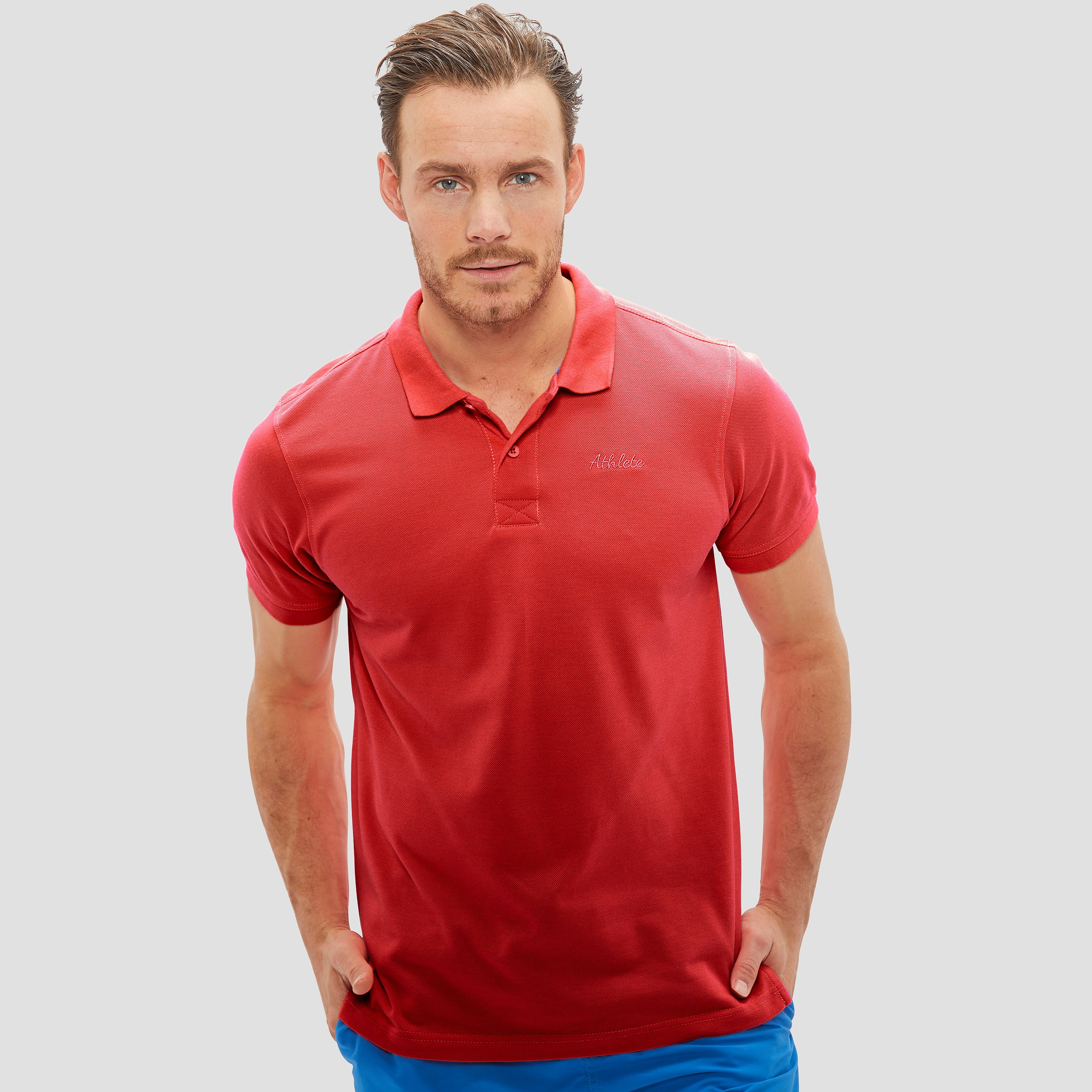 Choppy Polo Rood Heren - Red
