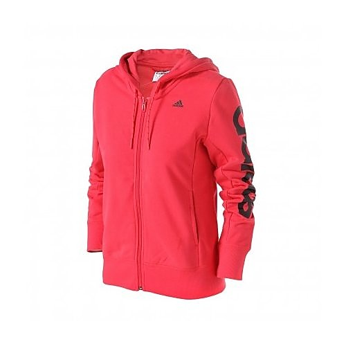 adidas ess lineair fz hooded