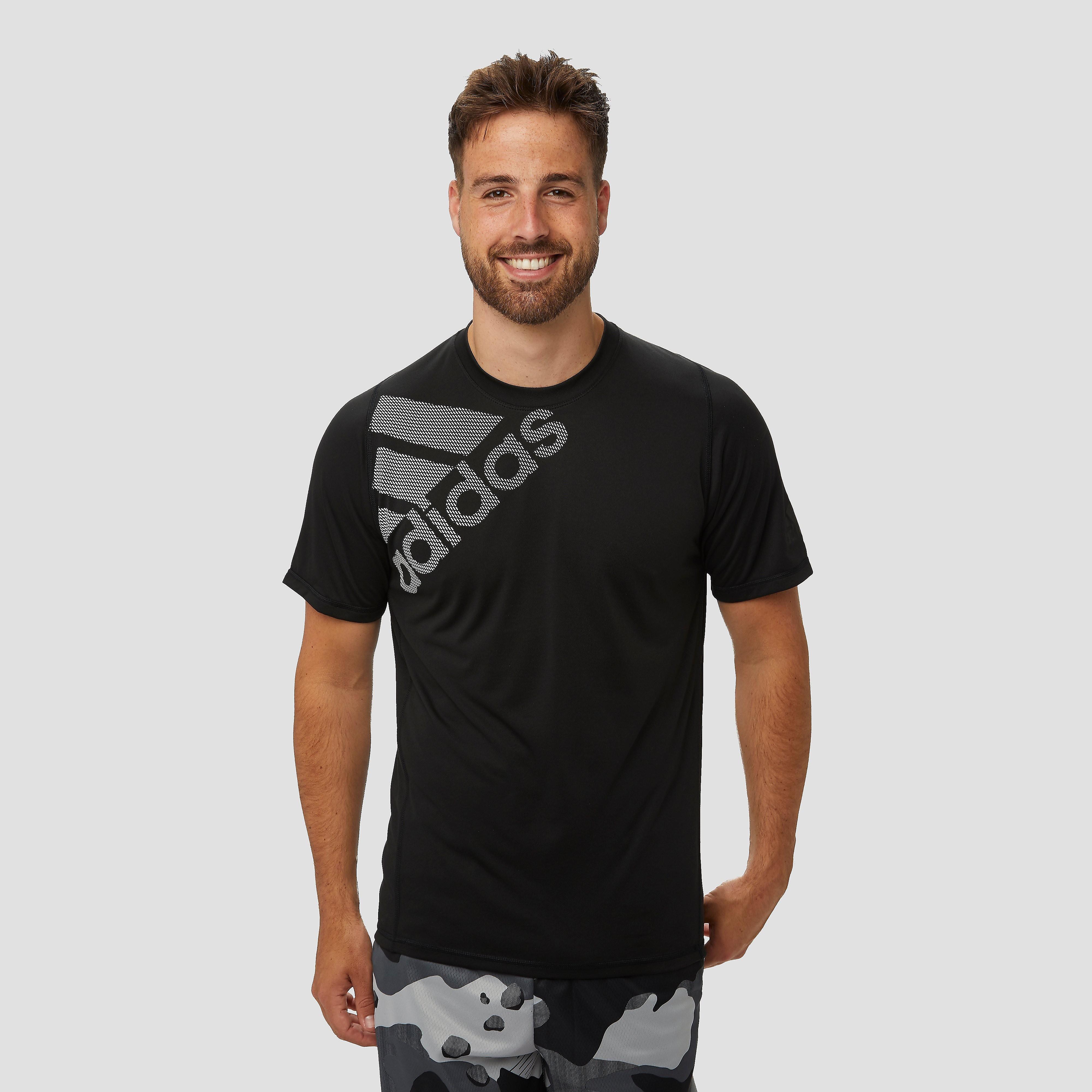 adidas Flspr gf badge of sport sportshirt zwart/wit heren Heren