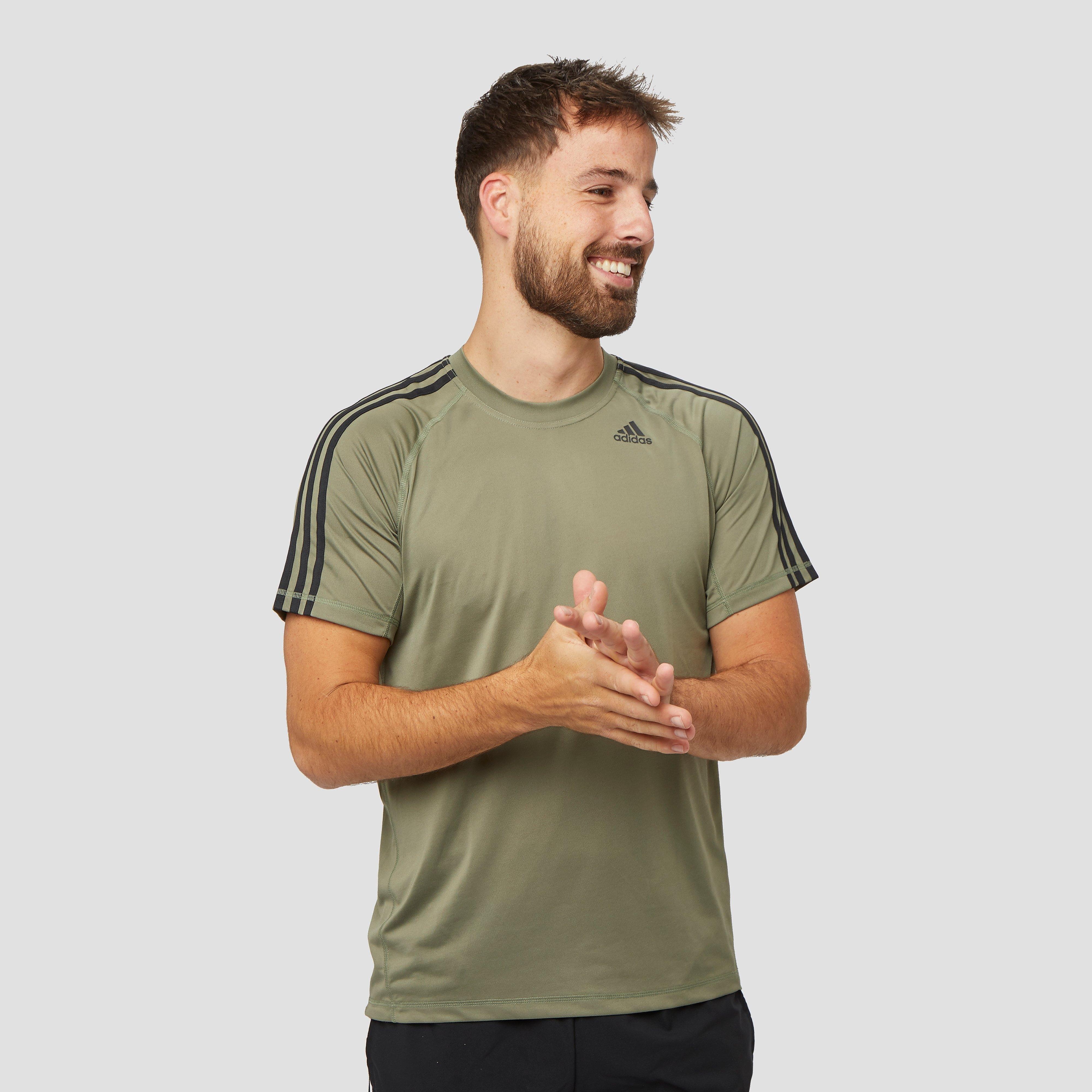 adidas Osr 3-stripes sportshirt groen heren Heren