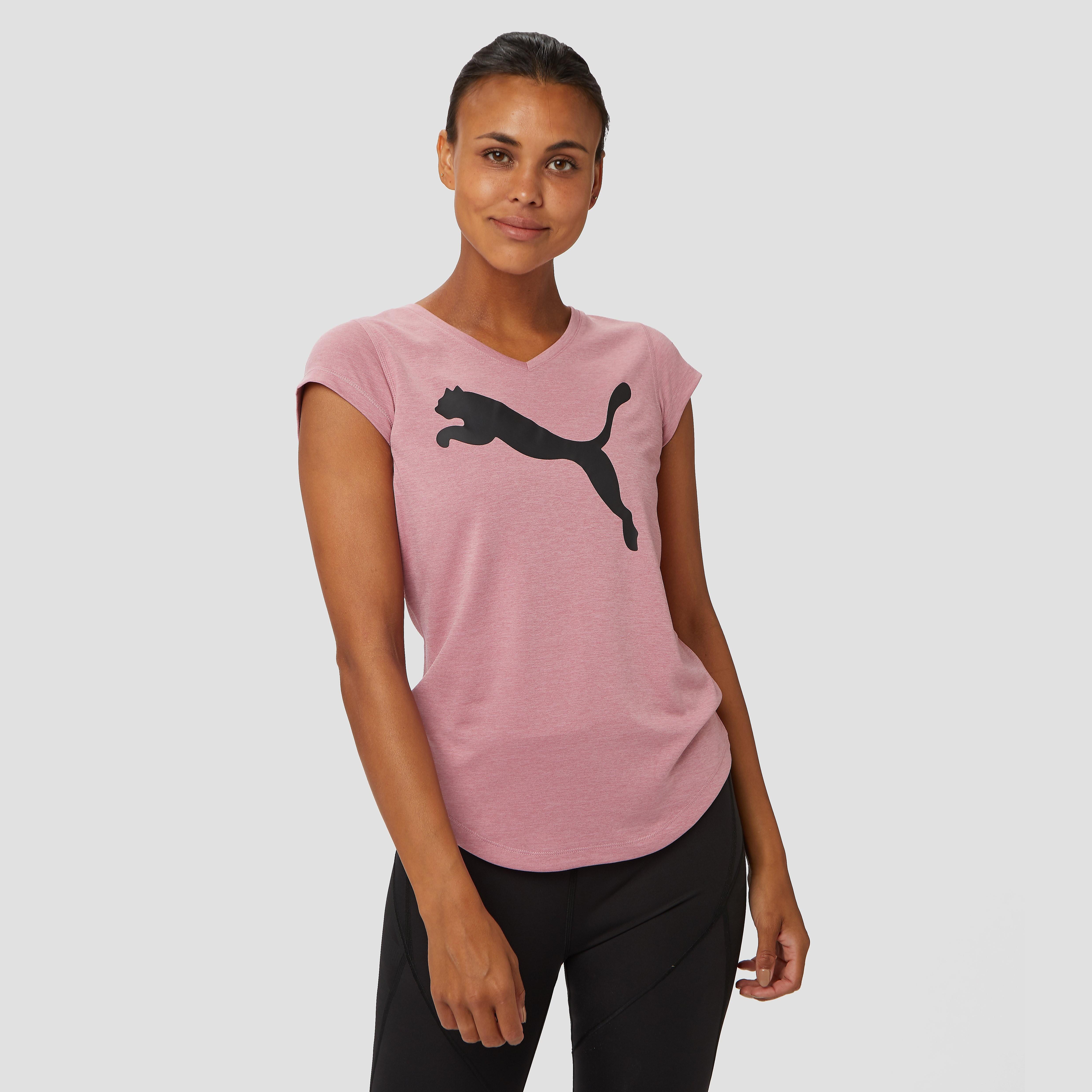 PUMA Heather cat yoga sportshirt roze dames Dames