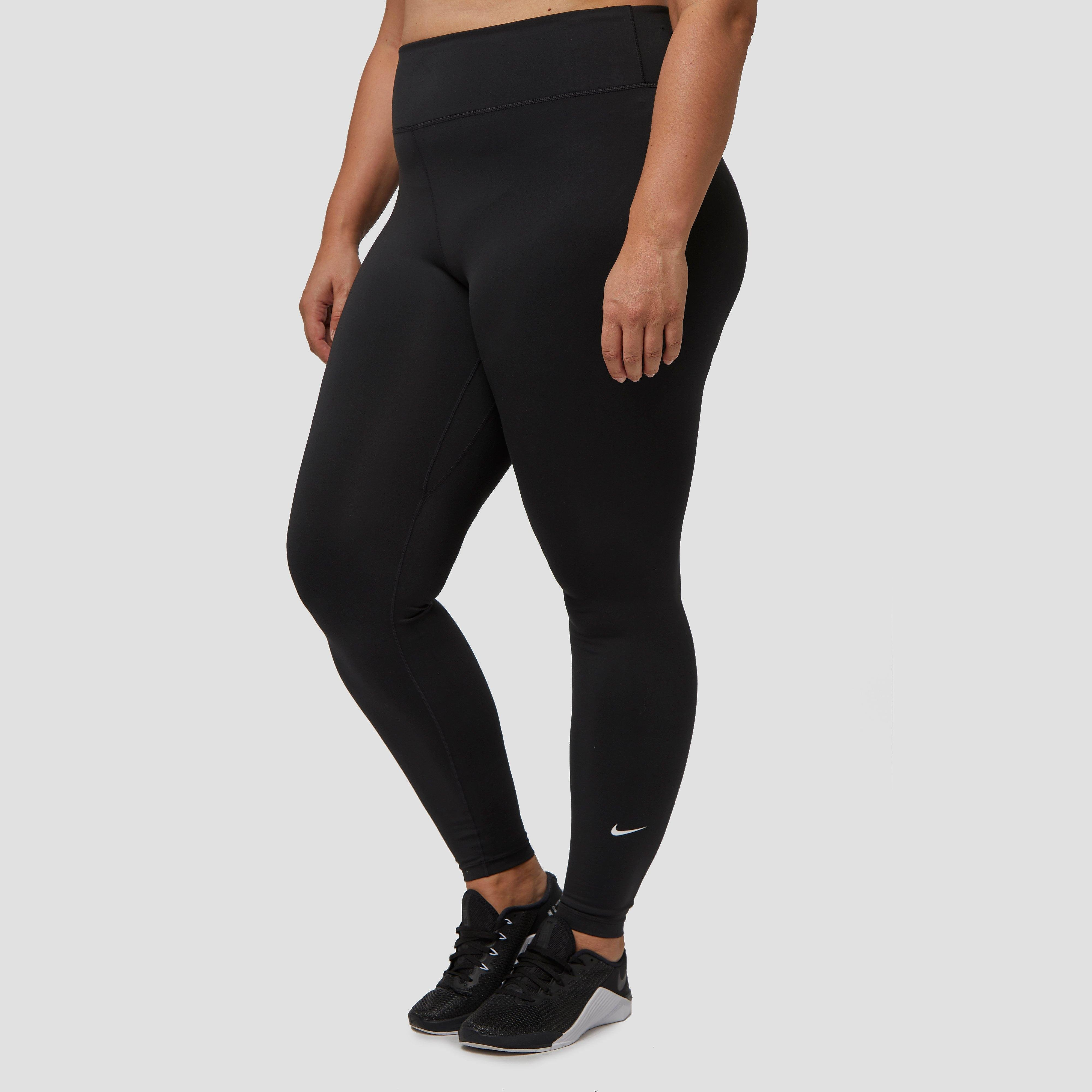 NIKE One plus size sporttight zwart dames Dames