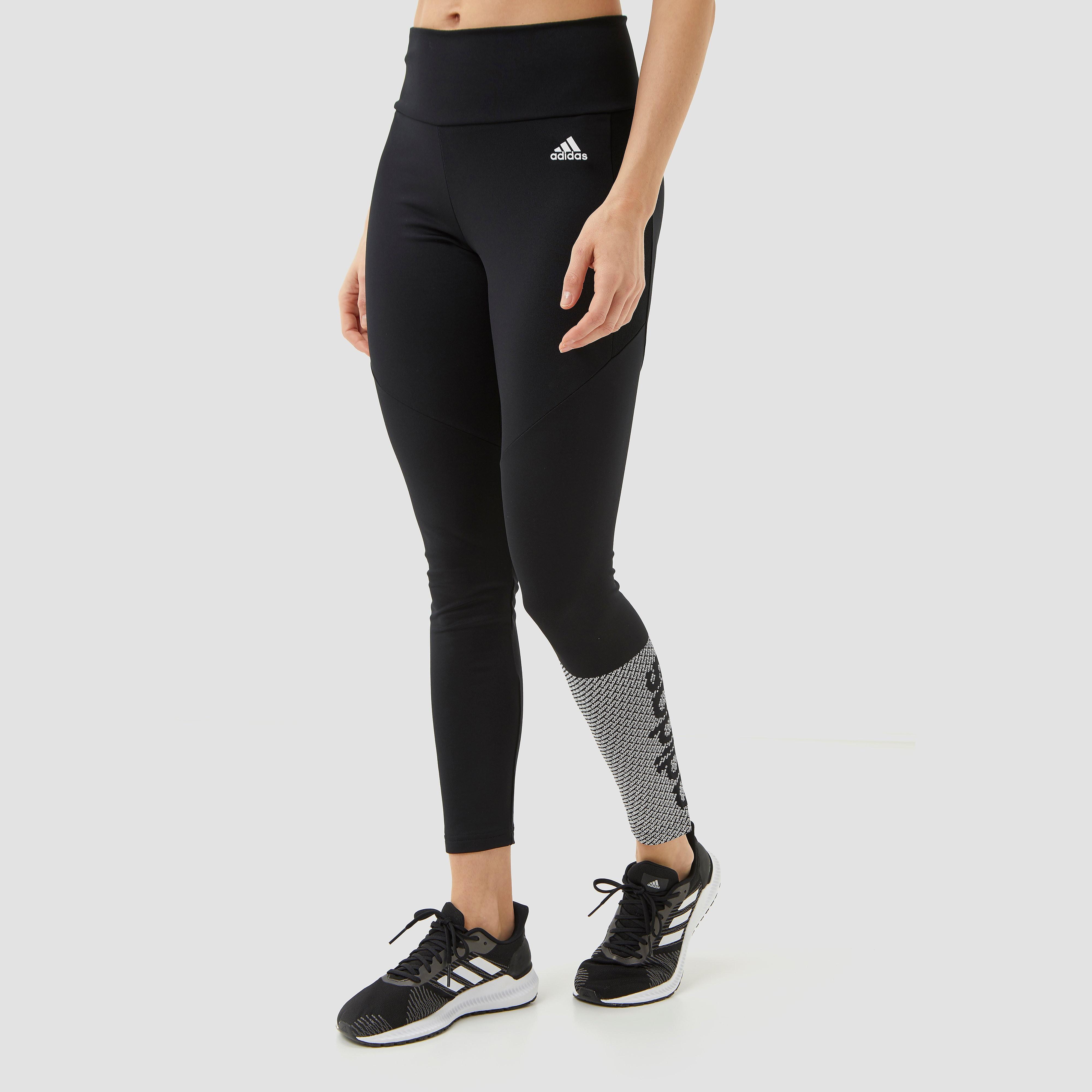 adidas Designed 2 move branded sporttight zwart dames Dames