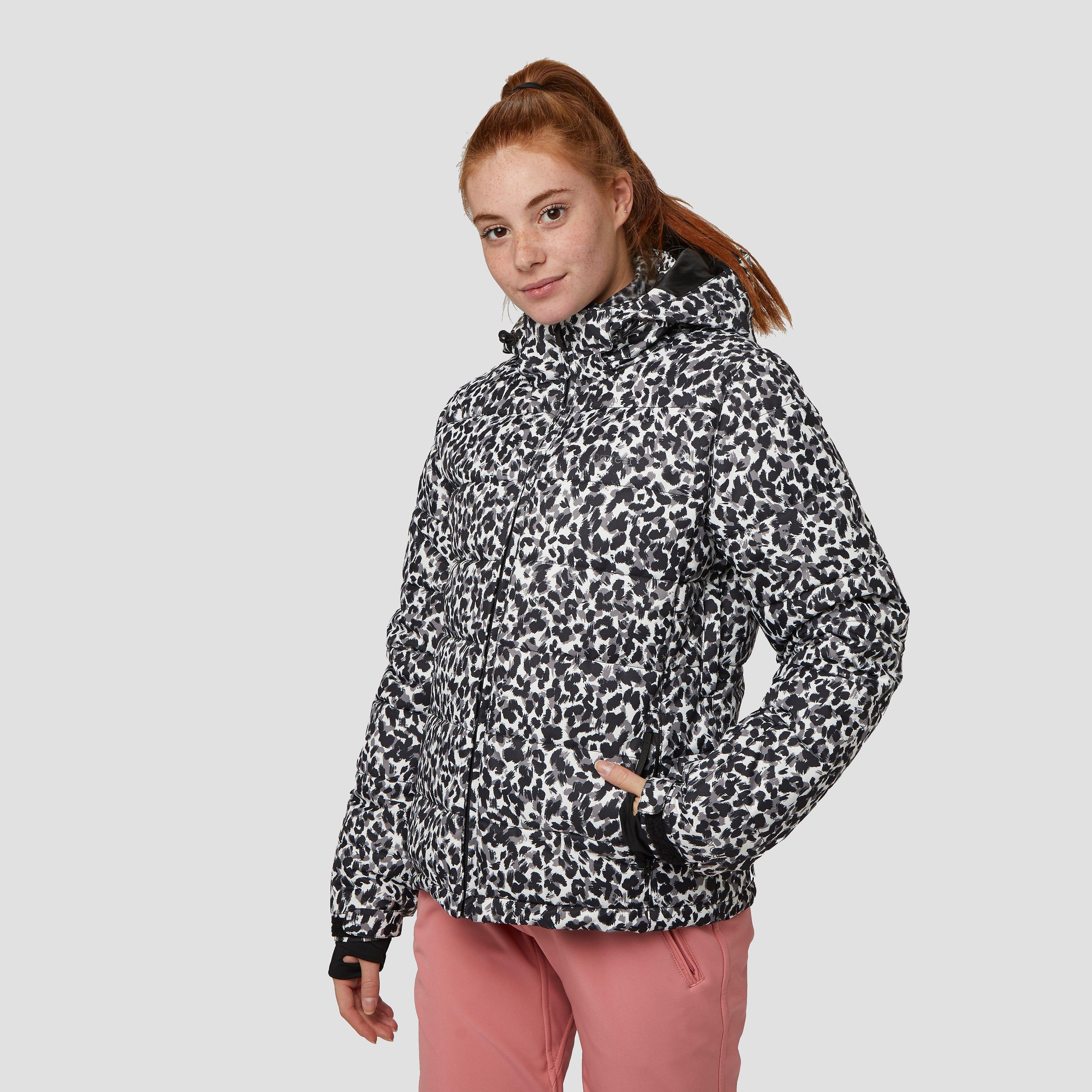 Laat de sneeuw maar eens goed smelten met het stomende design van deze dante ski jas. protest heeft de toffe ...