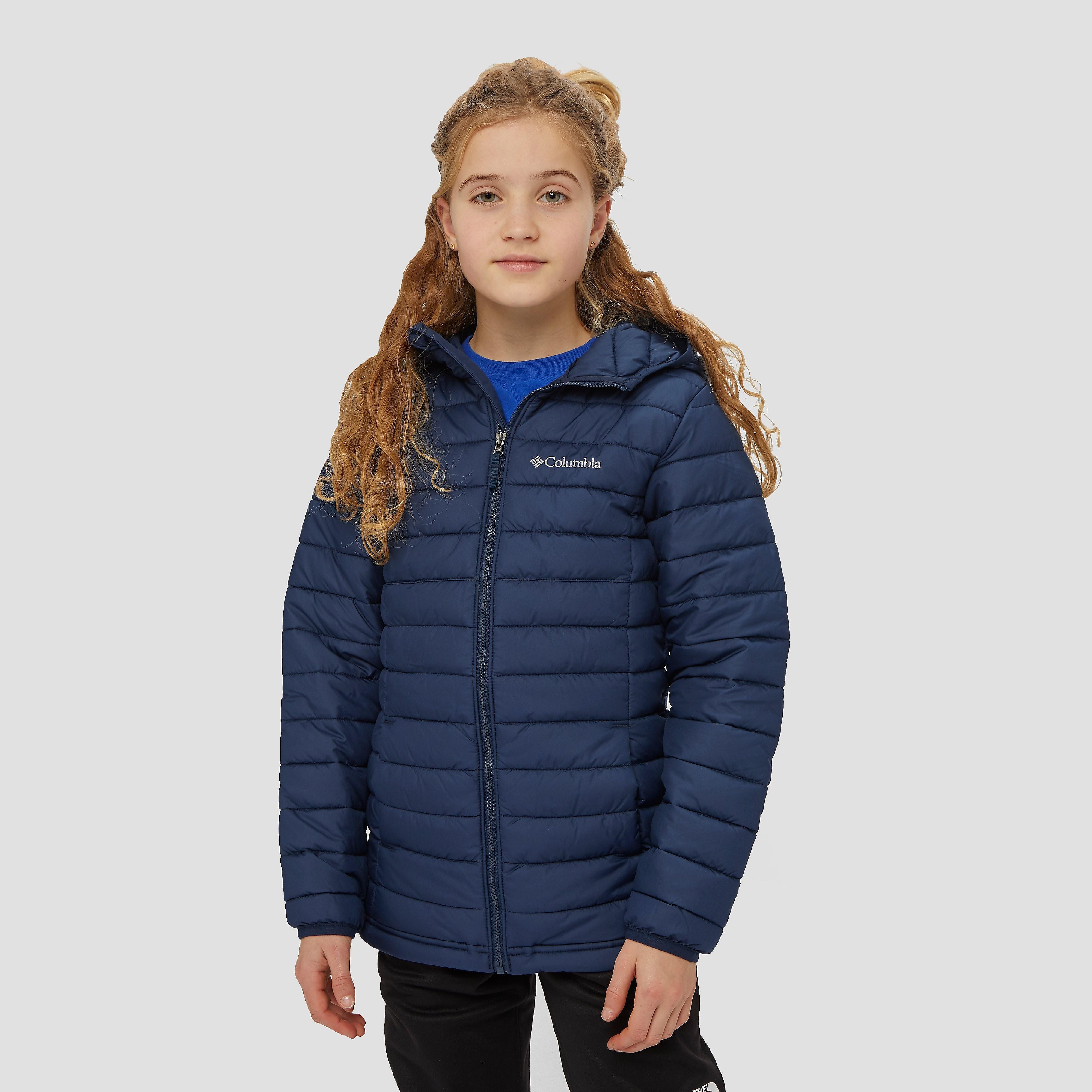 Blijf warm tijdens je uitjes in de buitenlucht met de powder light outdoorjas van columbia. dit blauwe ...
