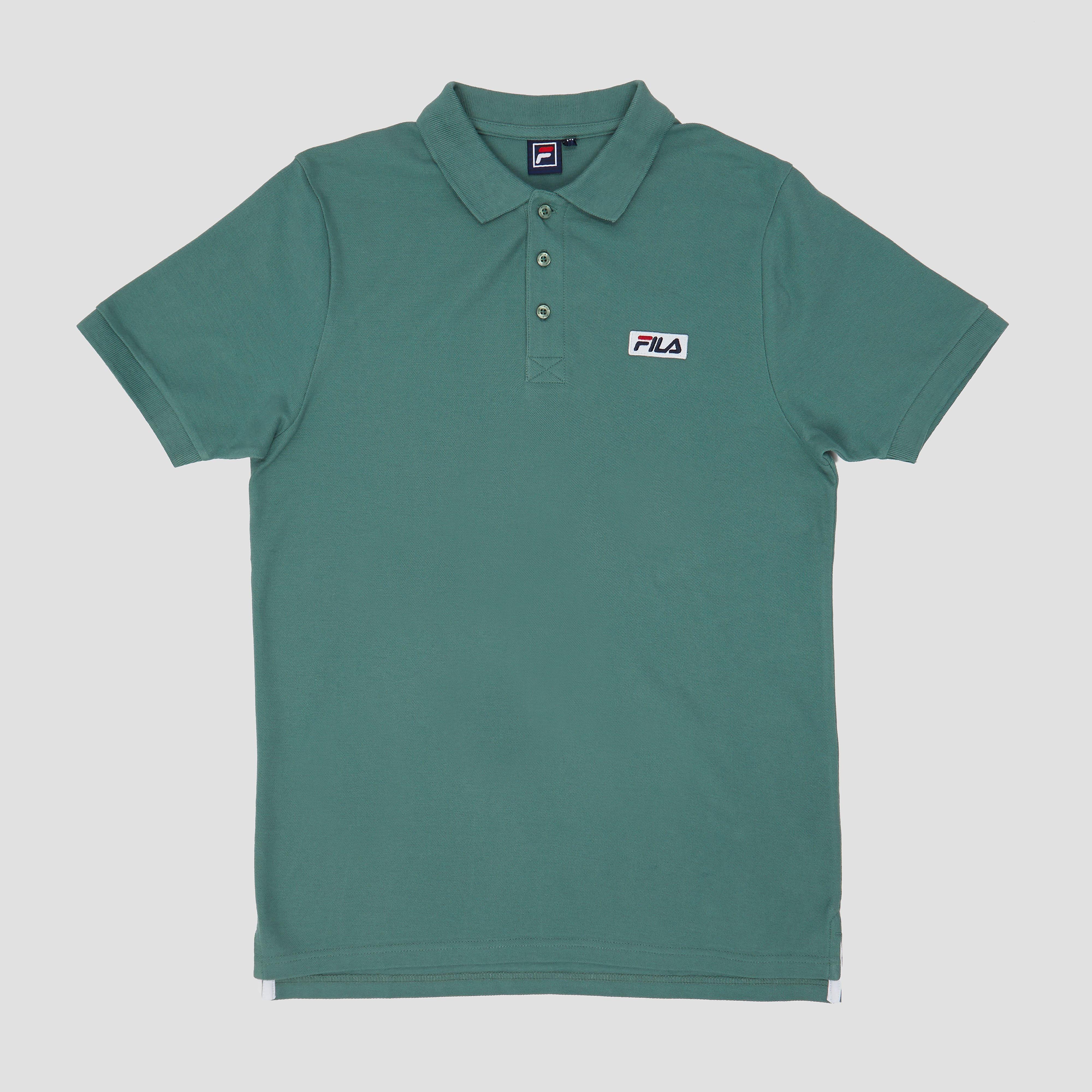 Met de fila unttino kies je voor stijlvol en eenvoud tegelijk. deze groene herenpolo is gemaakt van zacht ...