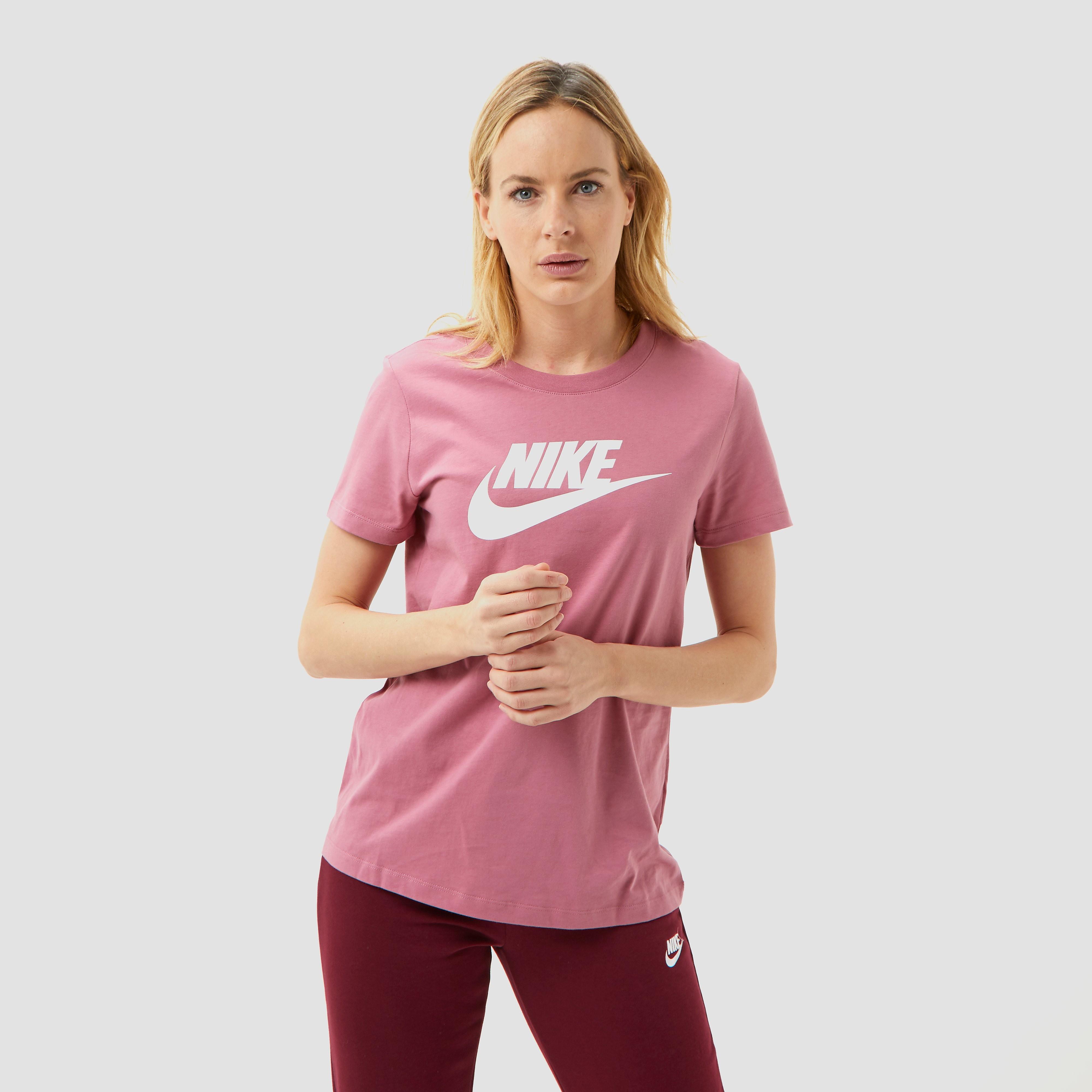 NIKE Essential icon futura shirt roze dames Dames