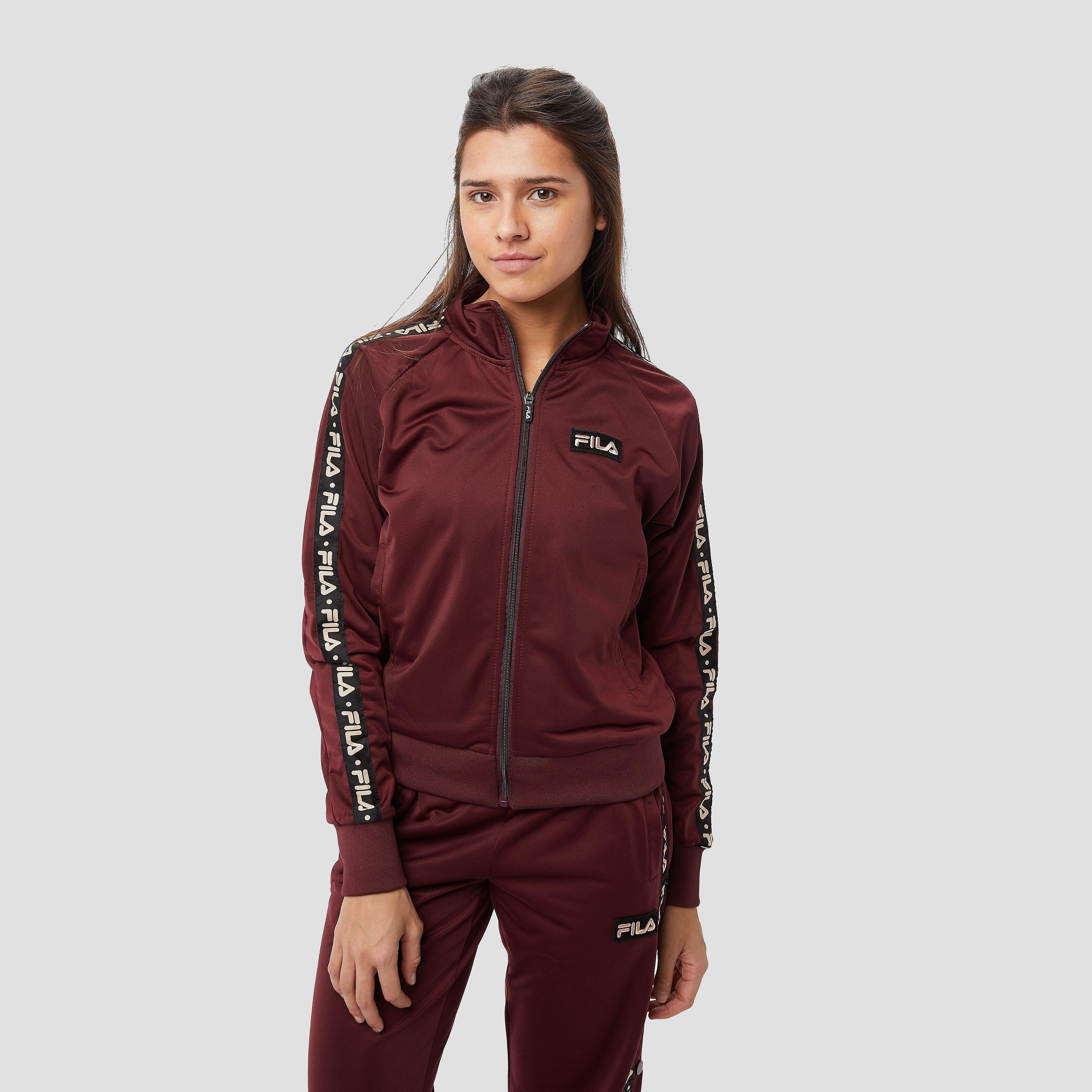FILA Mair trainingsjas bordeaux rood dames Dames