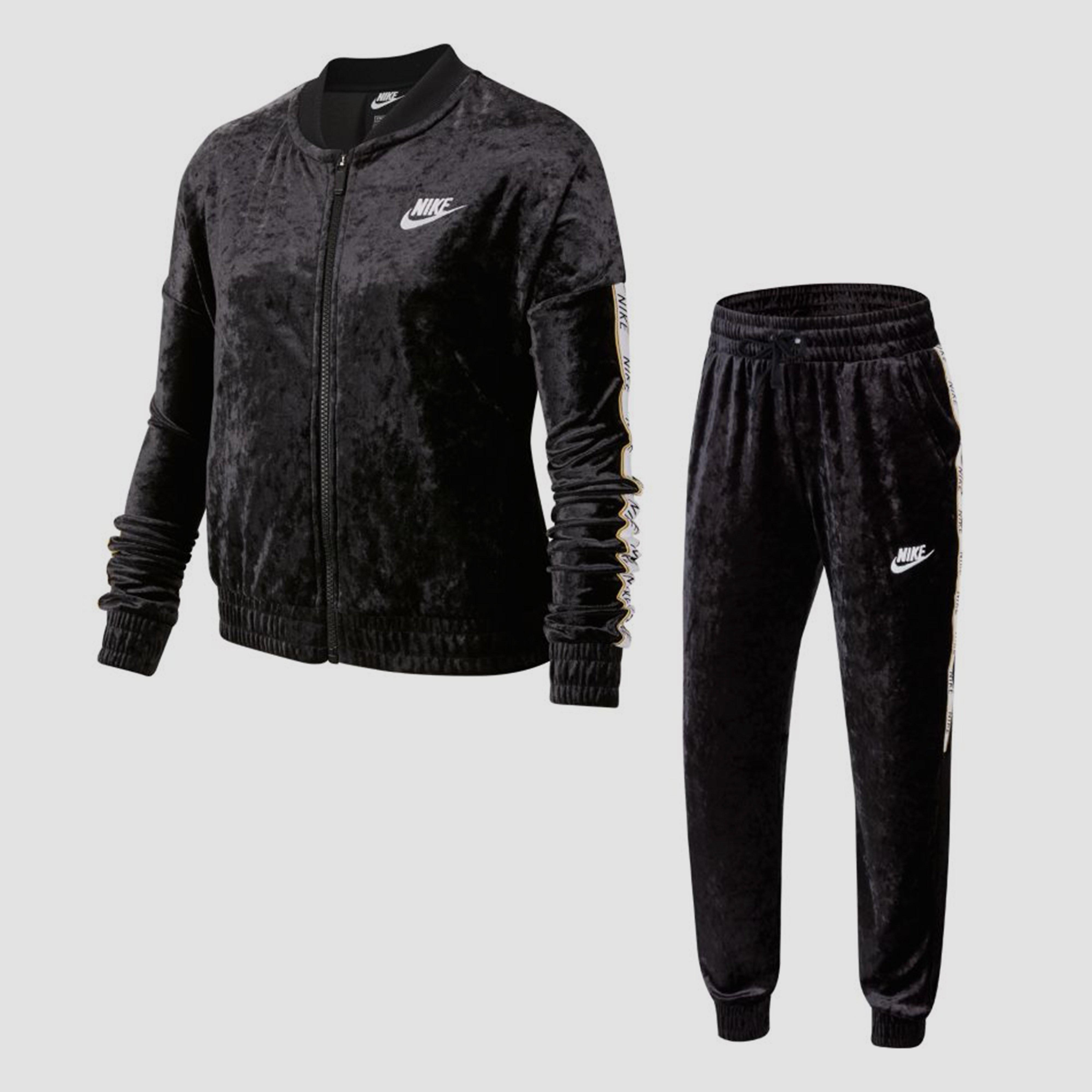 NIKE Sportswear joggingpak zwart kinderen Kinderen