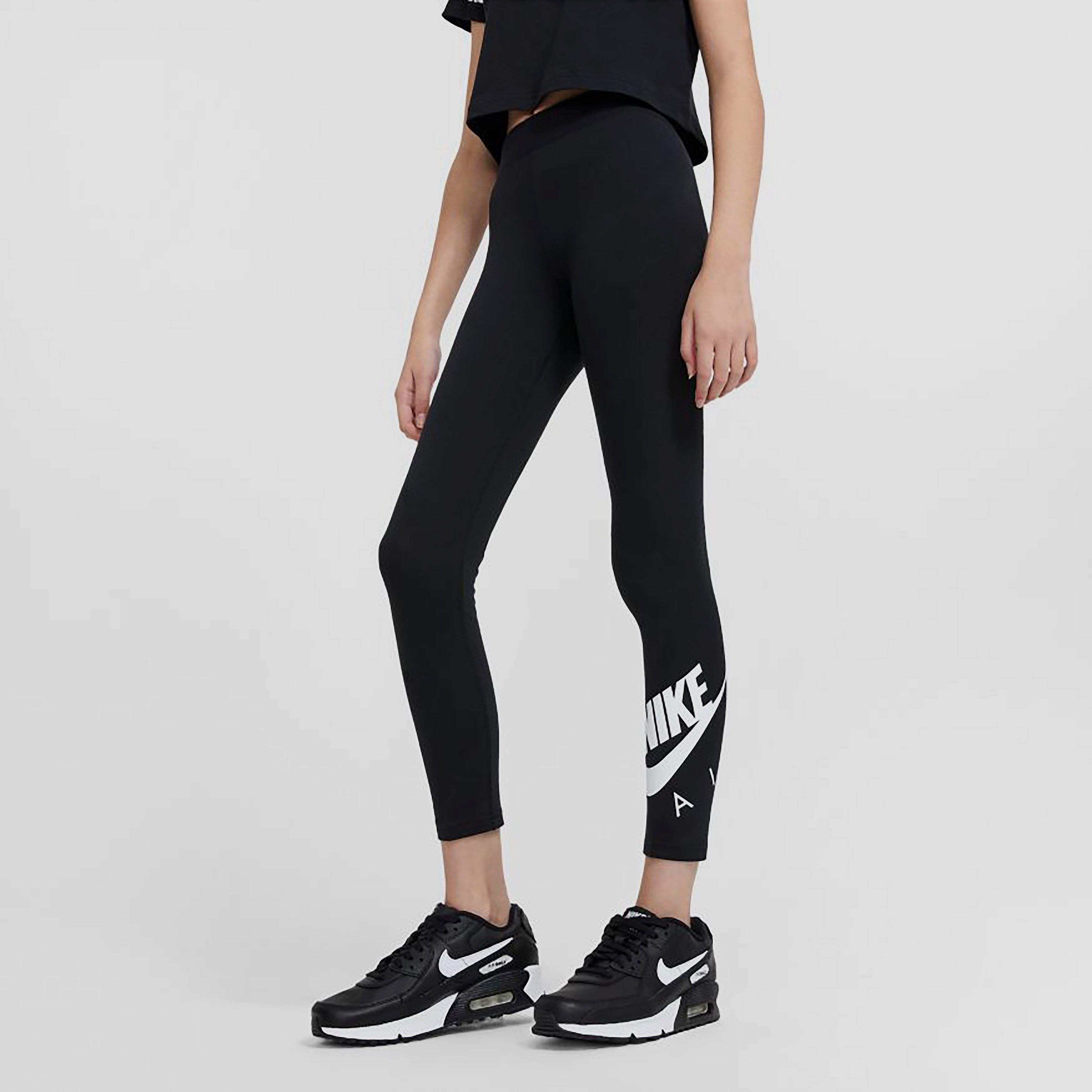 Nike Nike sportswear air favorites legging zwart kinderen kinderen