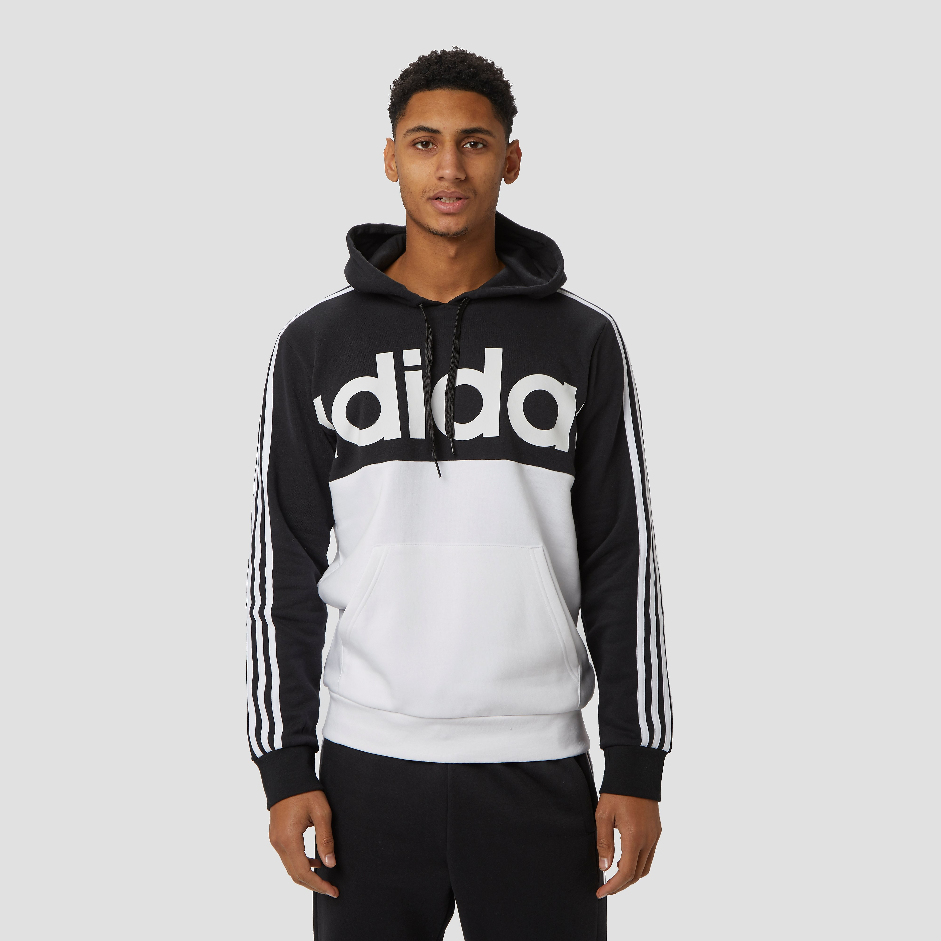 adidas Essentials trui zwart/wit heren Heren