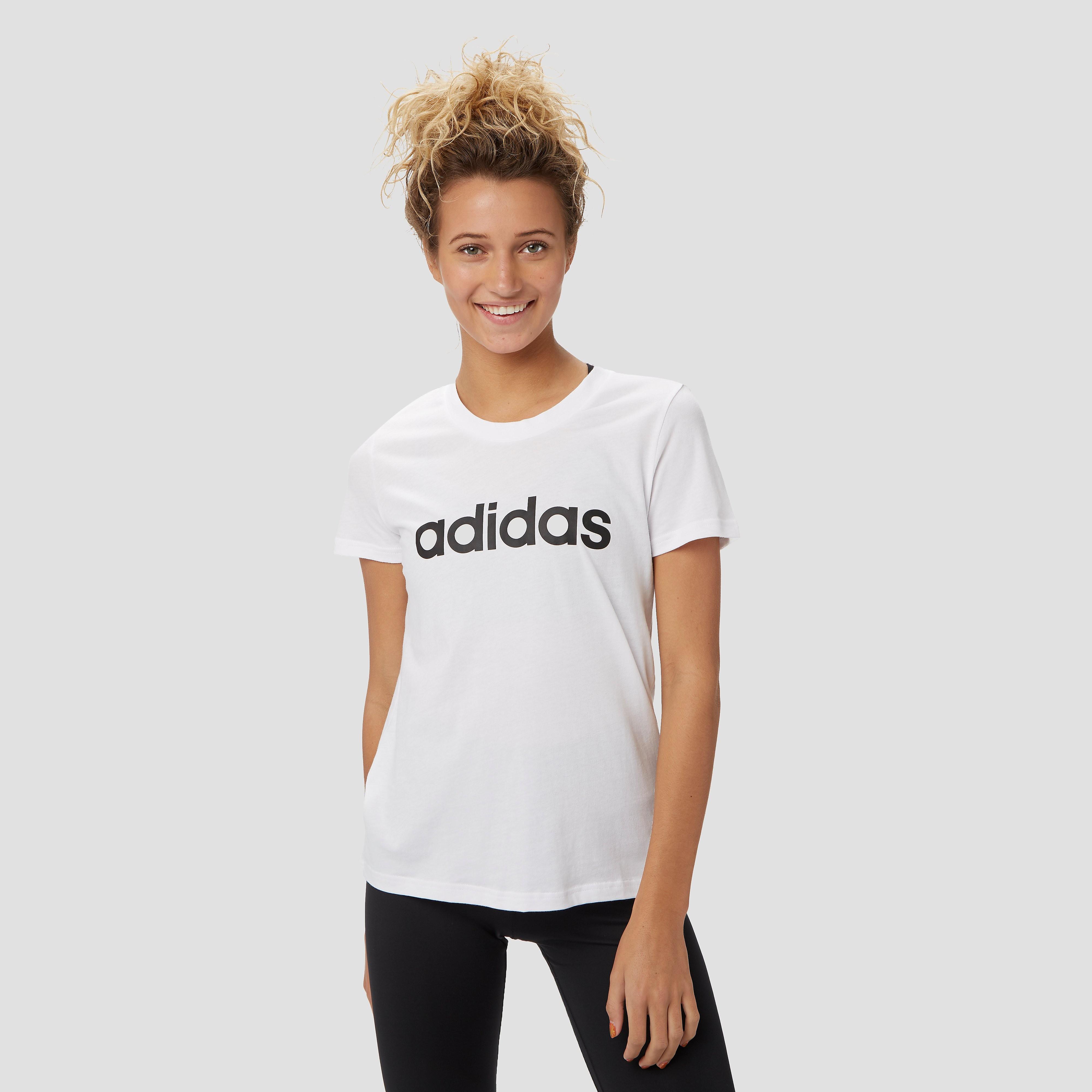 adidas T-shirt E LINEAR SLIM TEE