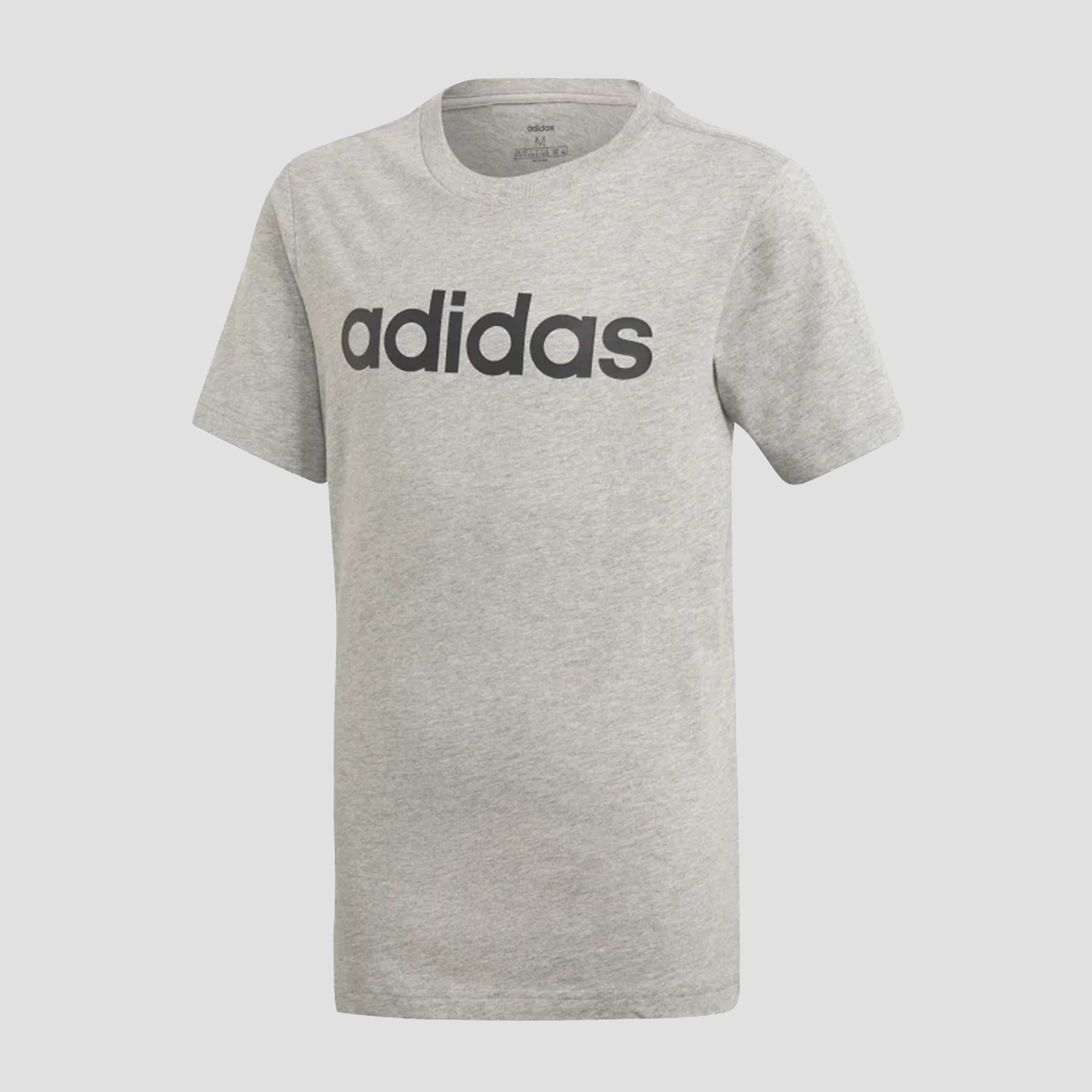 adidas Linear shirt grijs kinderen Kinderen