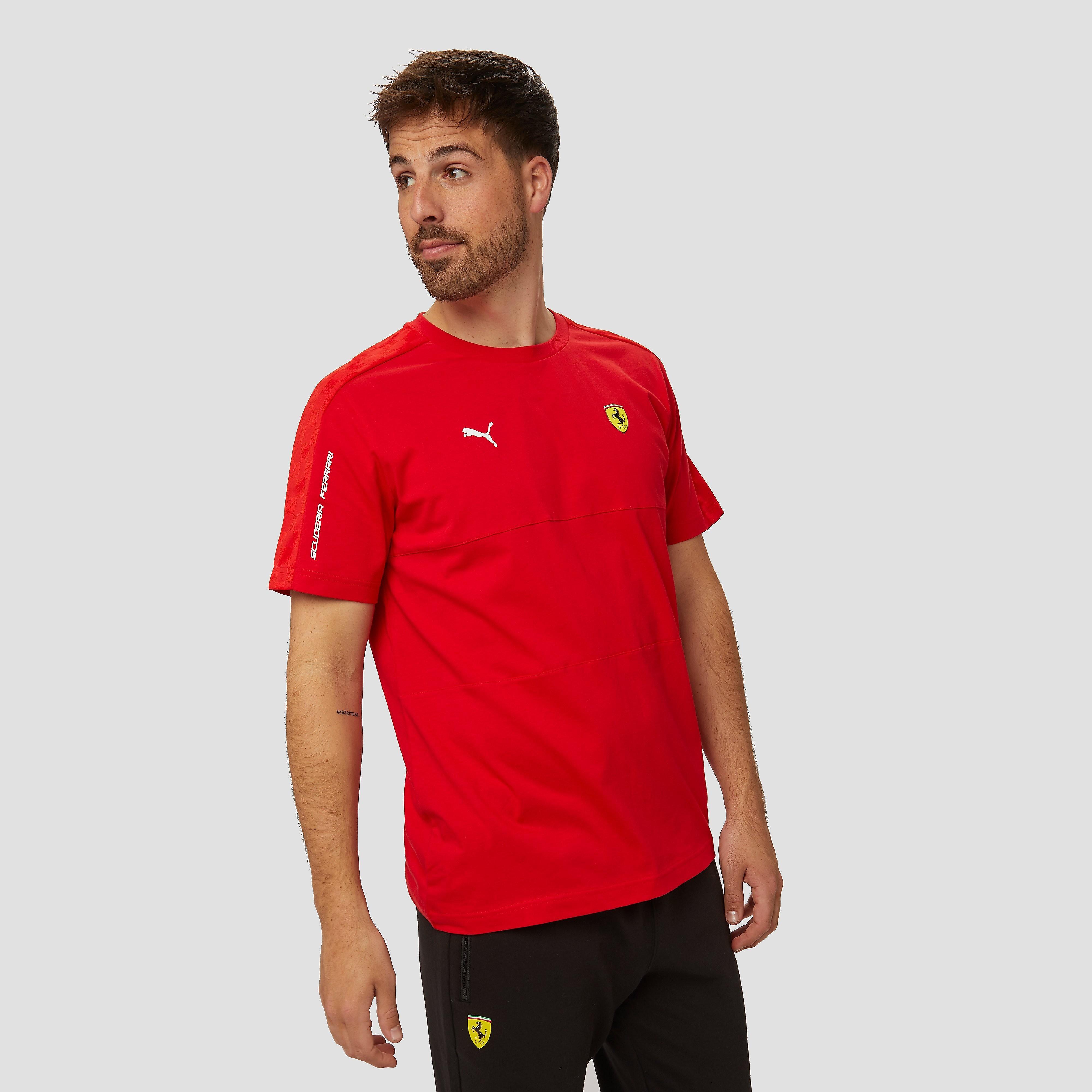 PUMA Scuderia ferrari t7 shirt rood heren Heren