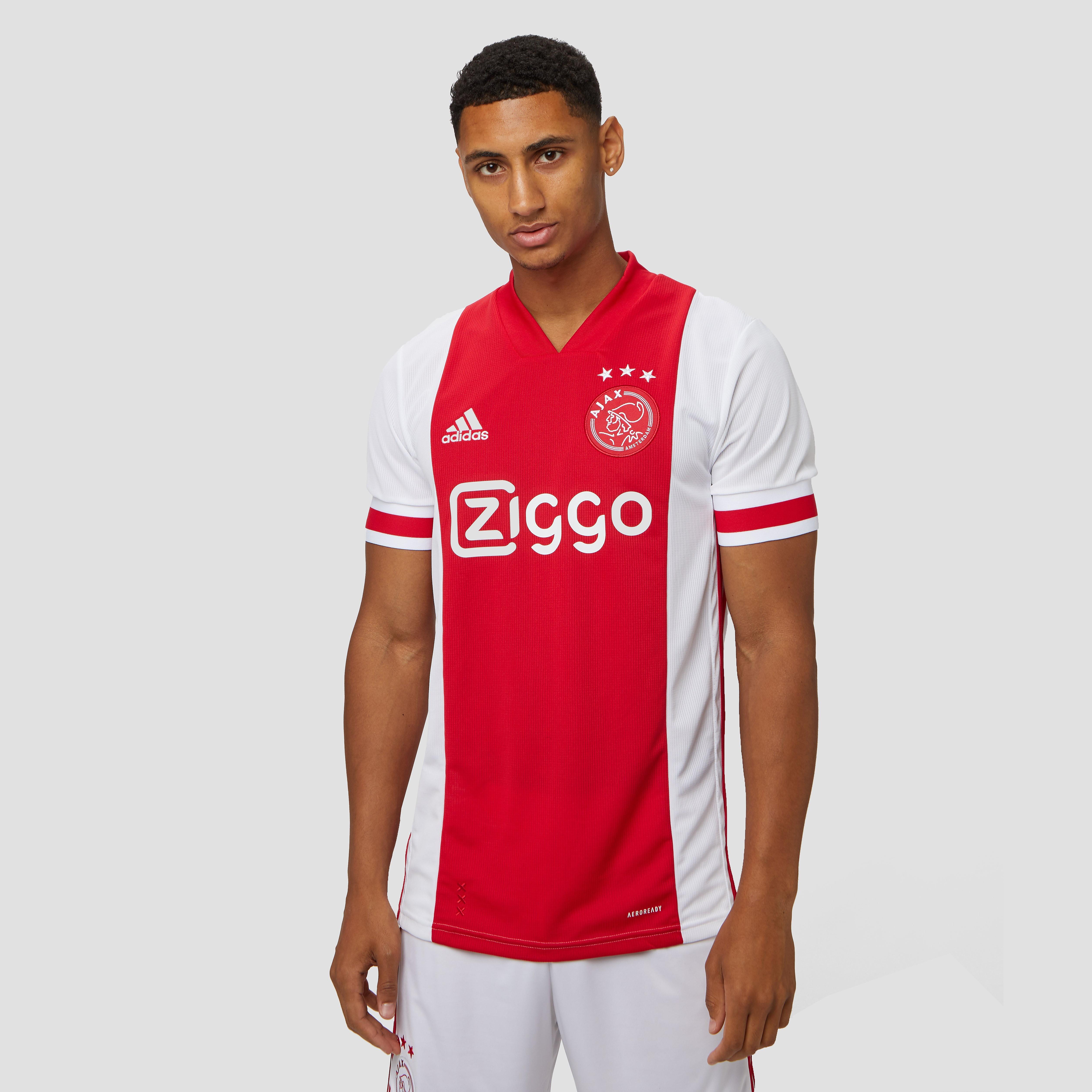 adidas Afc ajax thuisshirt 20-21 wit-rood heren Heren