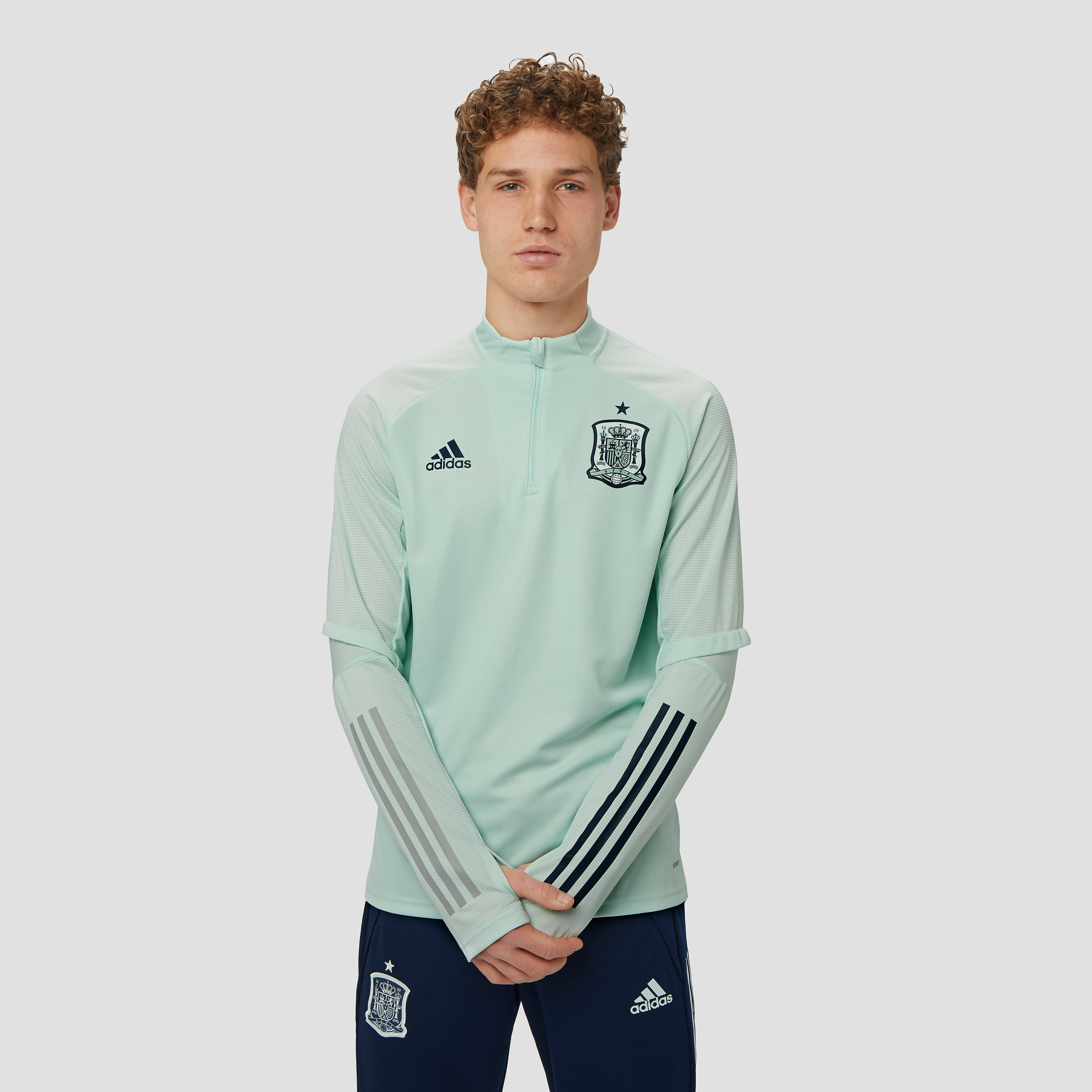 adidas Uefa euro 2020 fef spanje trainingstop 20/22 groen heren Heren