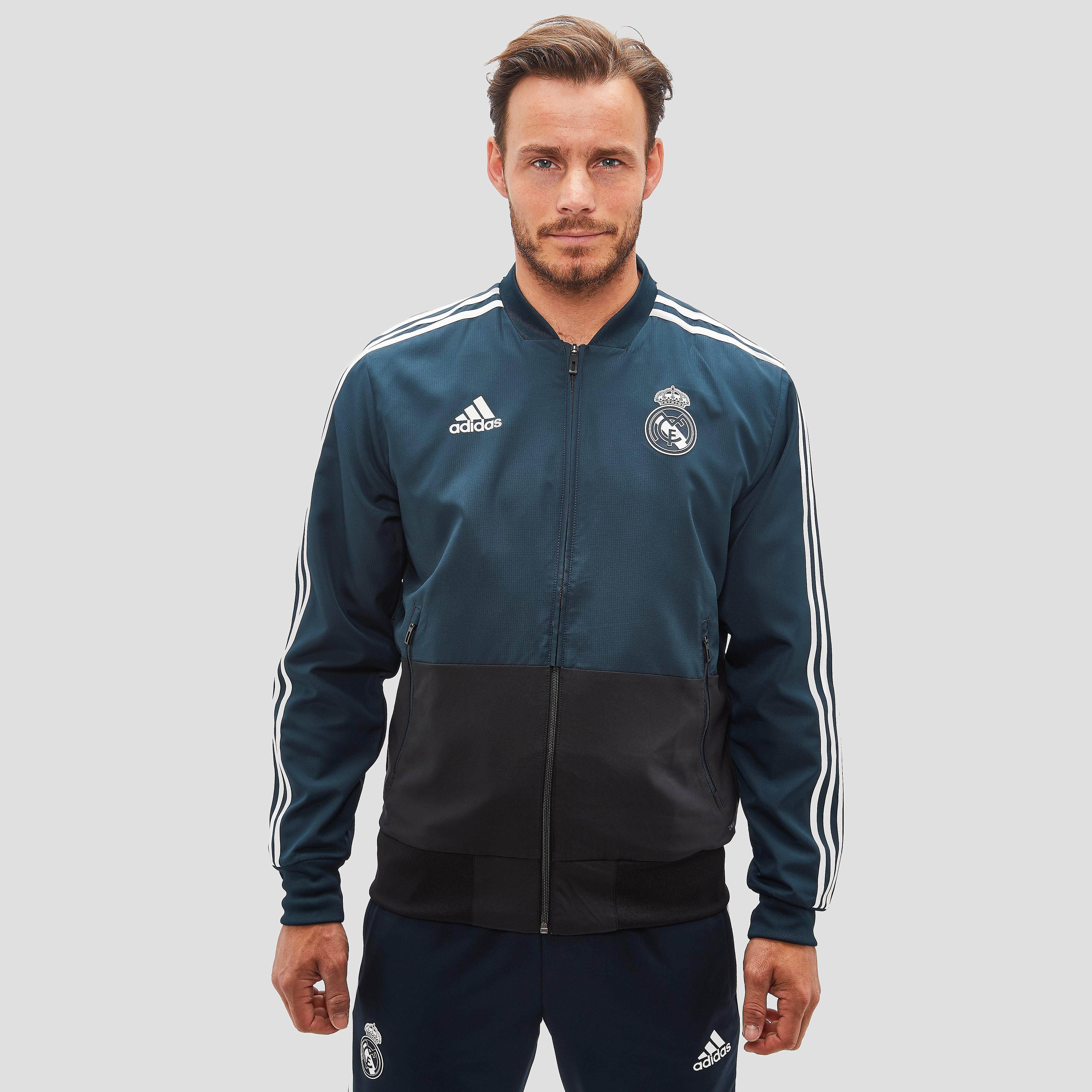 Real Madrid Presentatiejas 18-19 Blauw Heren Dark Blue