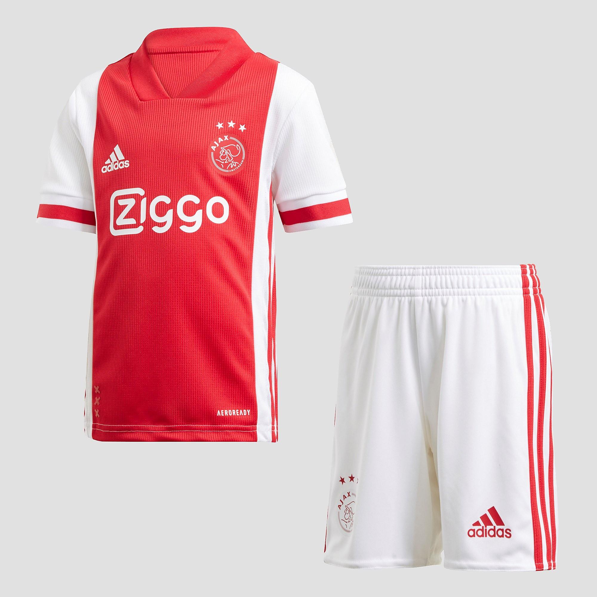 adidas Afc ajax thuistenue 20-21 wit-rood kinderen Kinderen