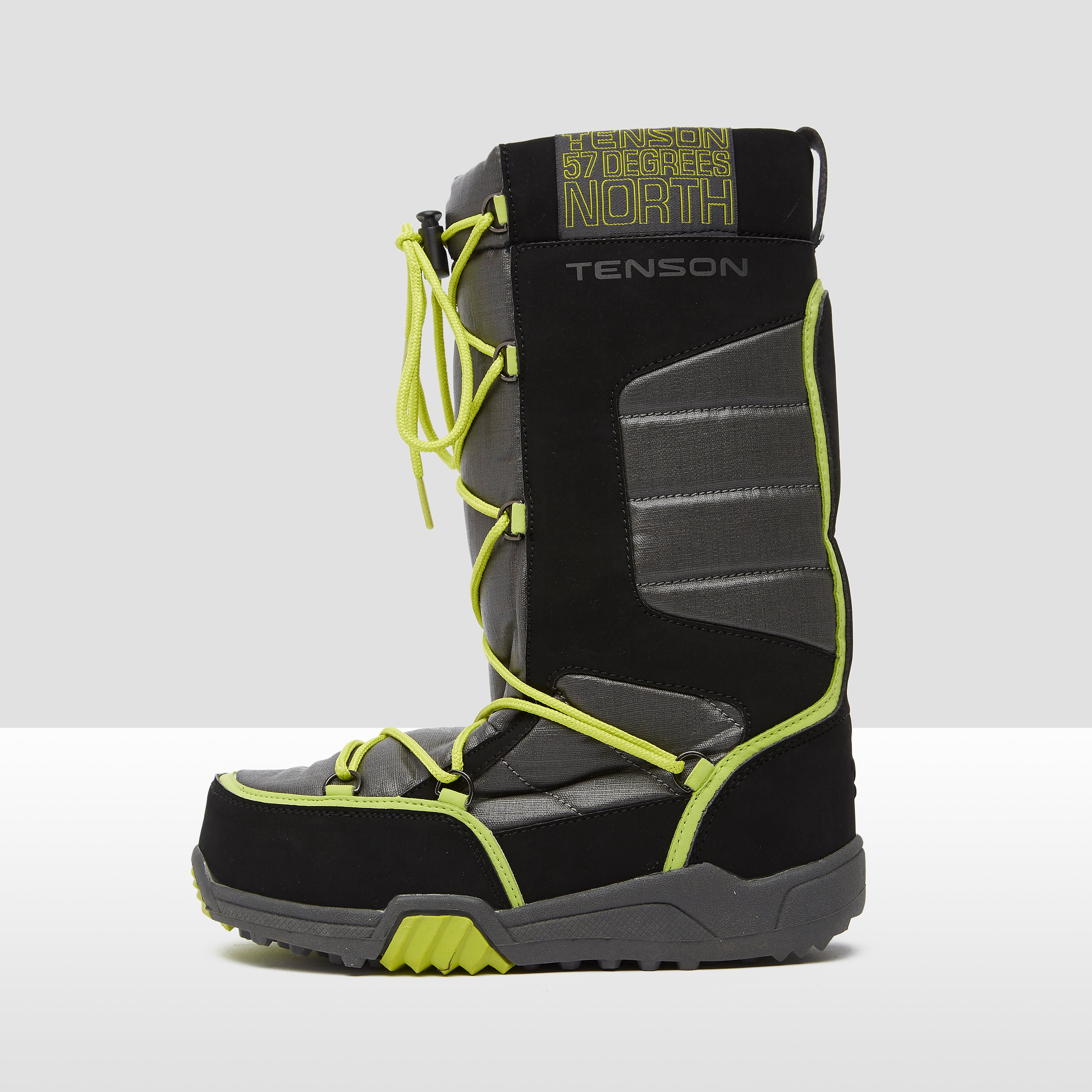 Alph Mid Plus Snowboots Kinderen Black-Green. Size 32