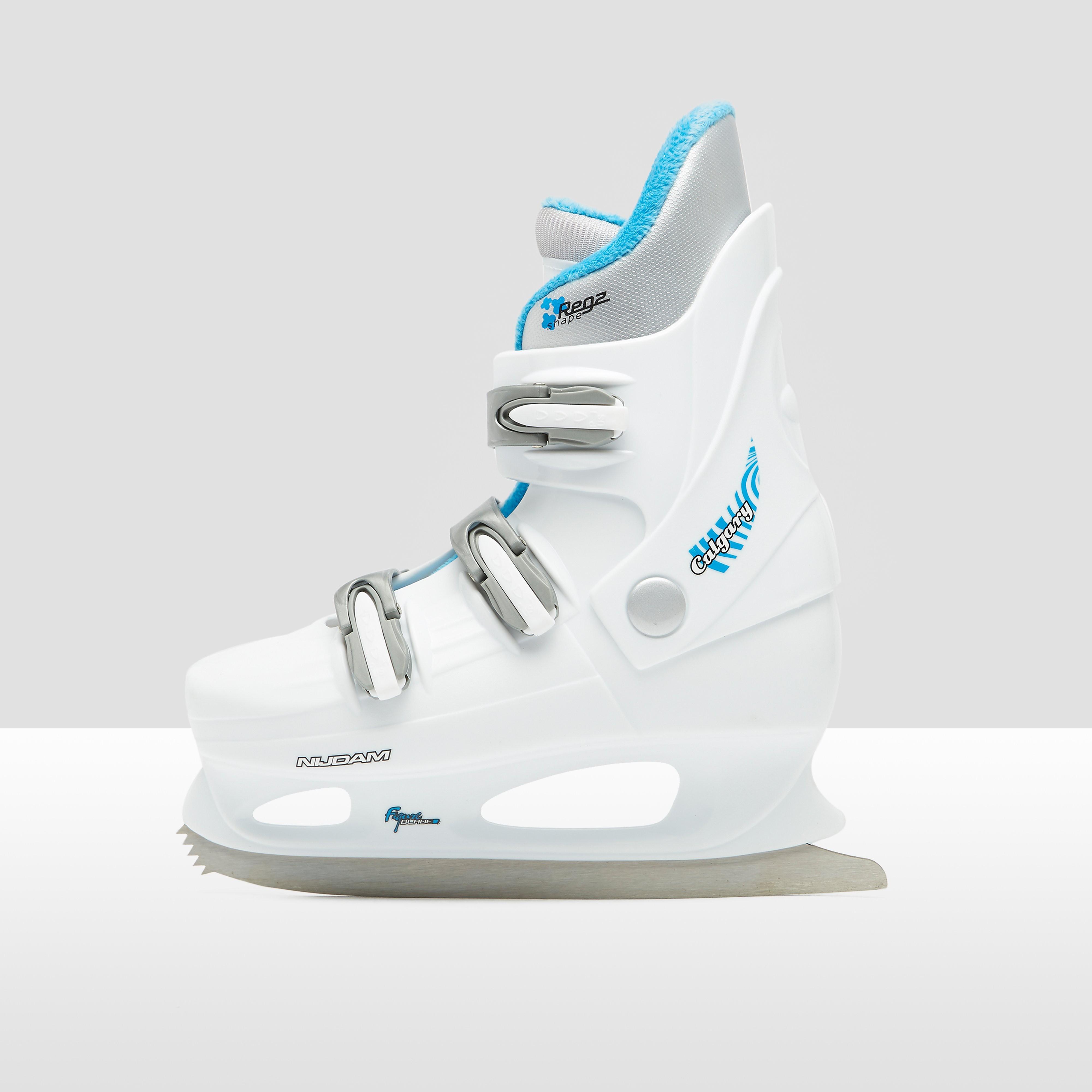 NIJDAM Hardboot kunstschaatsen wit dames Dames