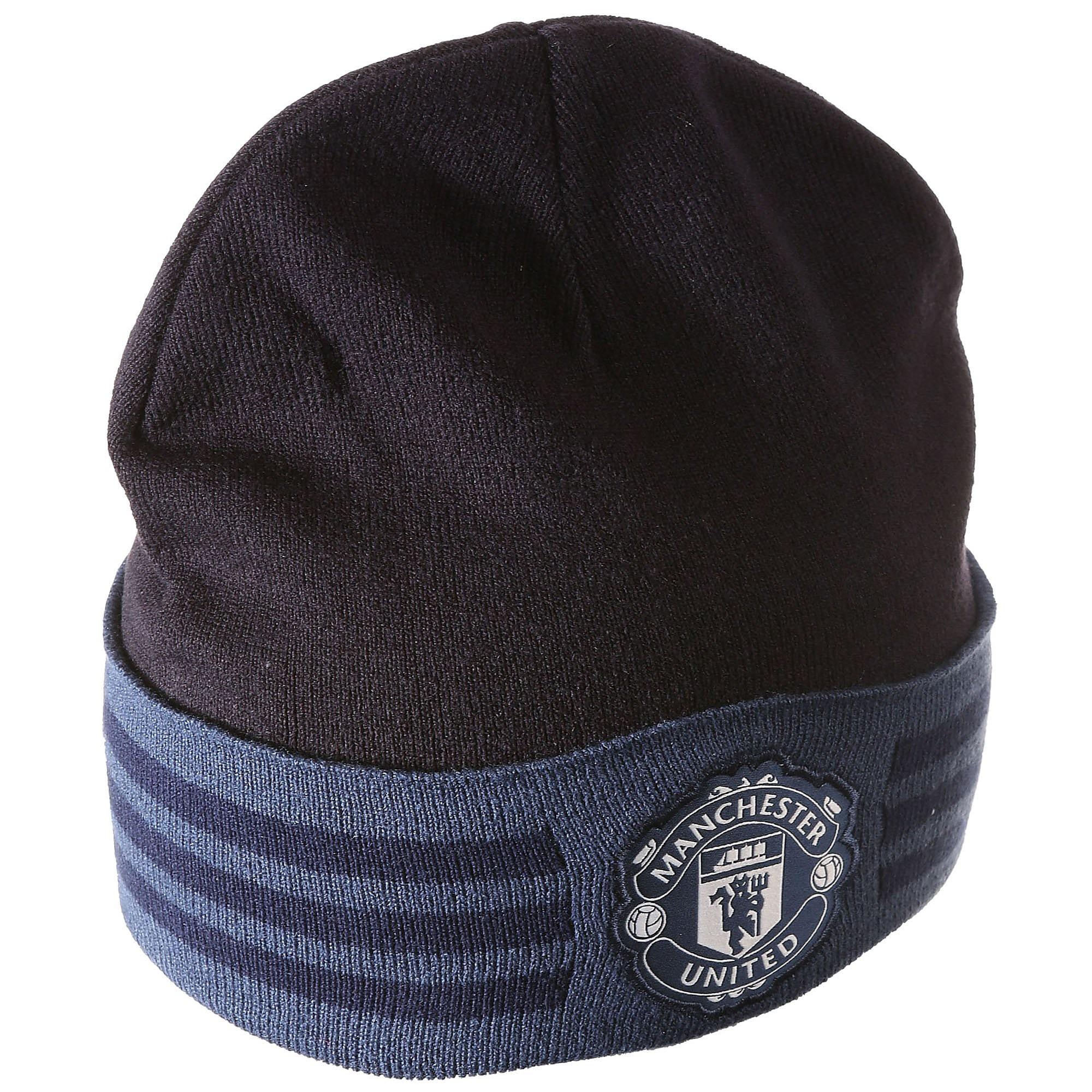 Manchester United Fc 3-Stripe Muts 16/17 Zwart/Blauw Heren