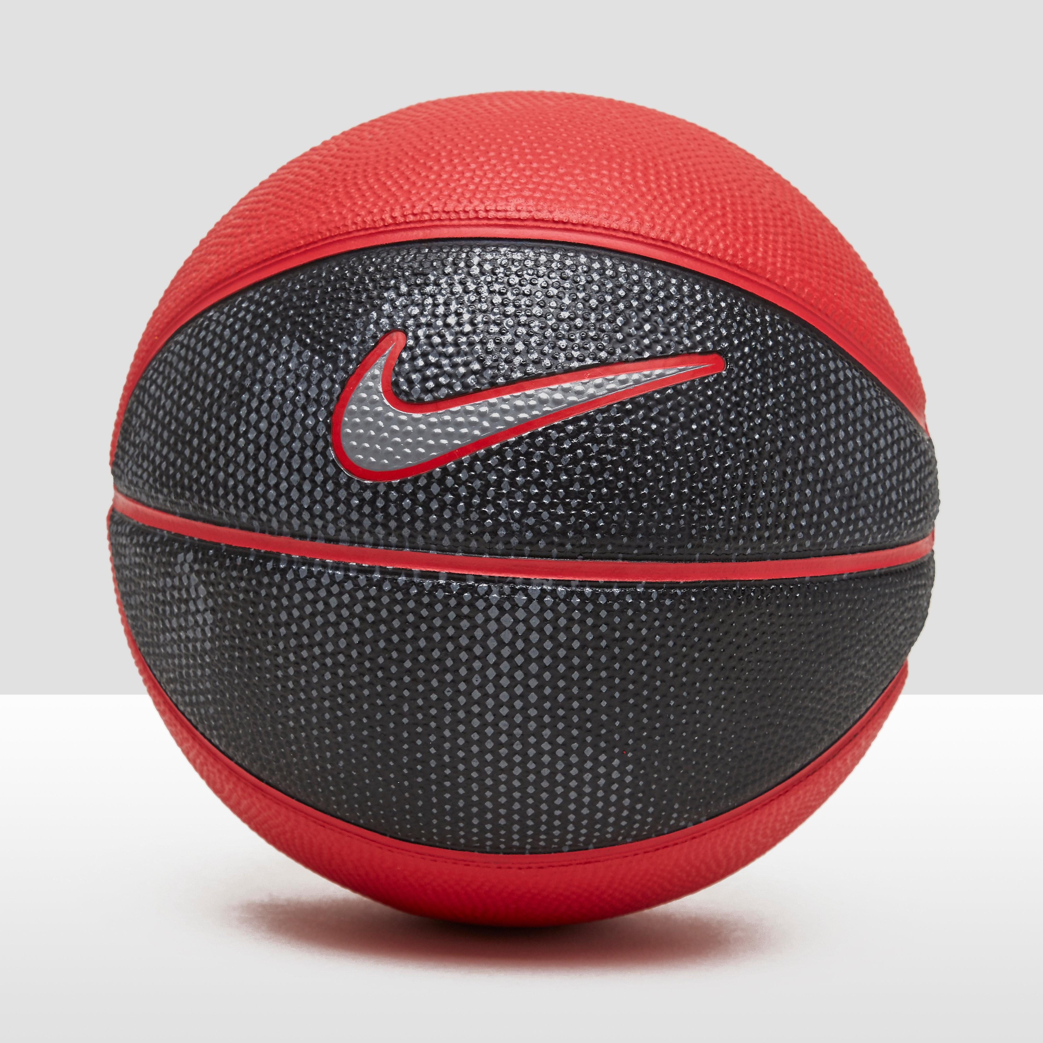 Skills Rubber Basketbal Zwart/Rood