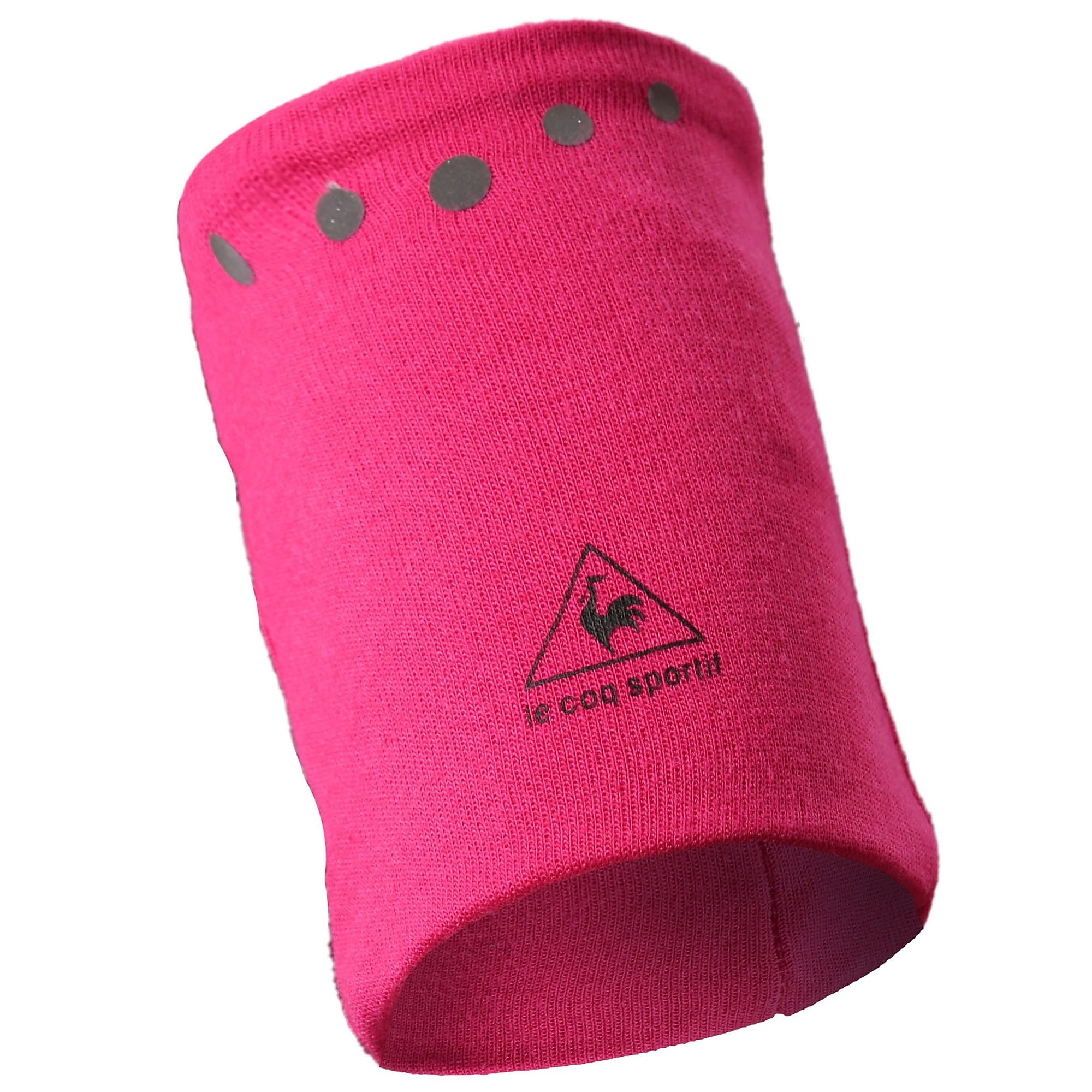 Le Coq Sportif zweetband/haarband roze