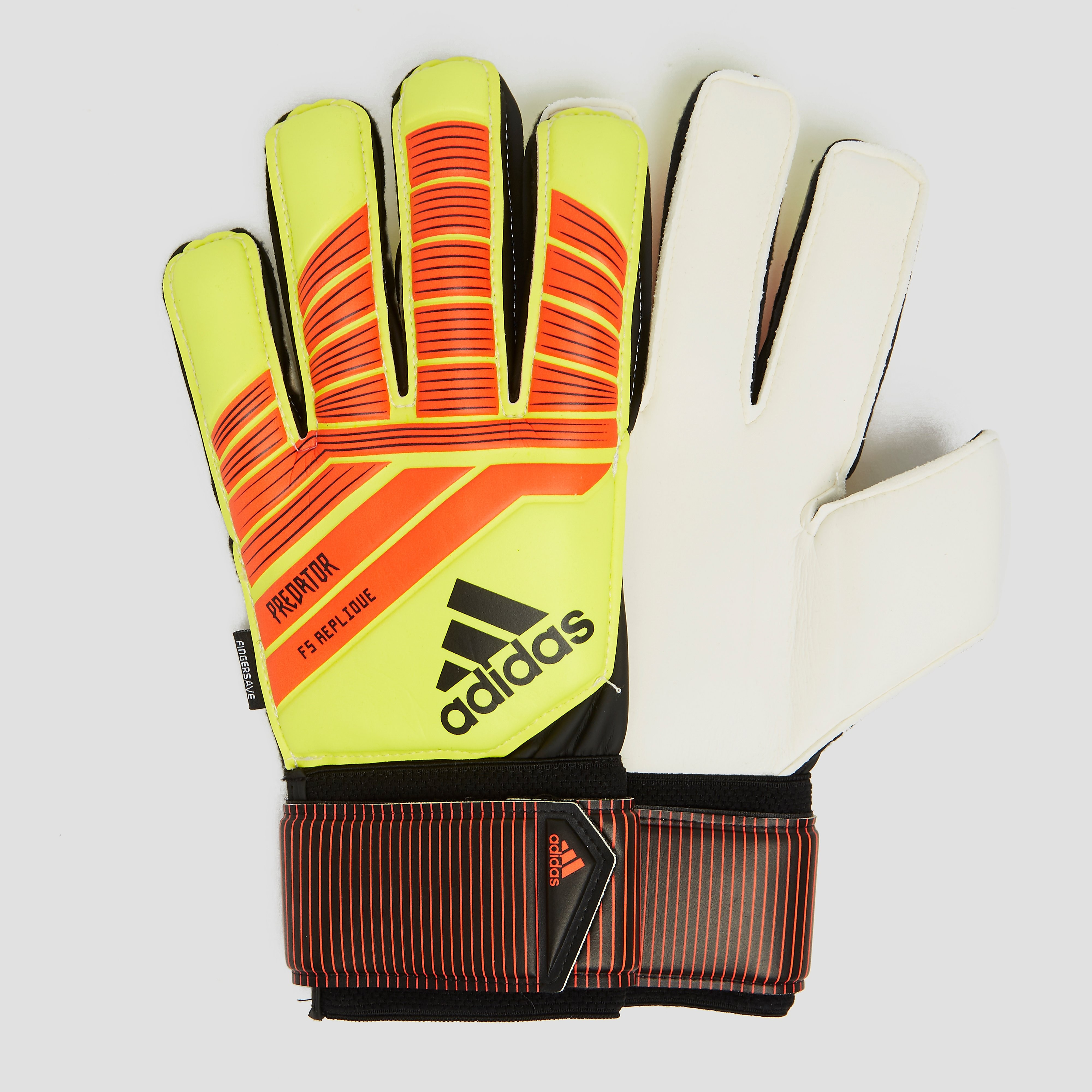Predator Fingersave Replique Keepershandschoenen Zwart-Rood Black-Red