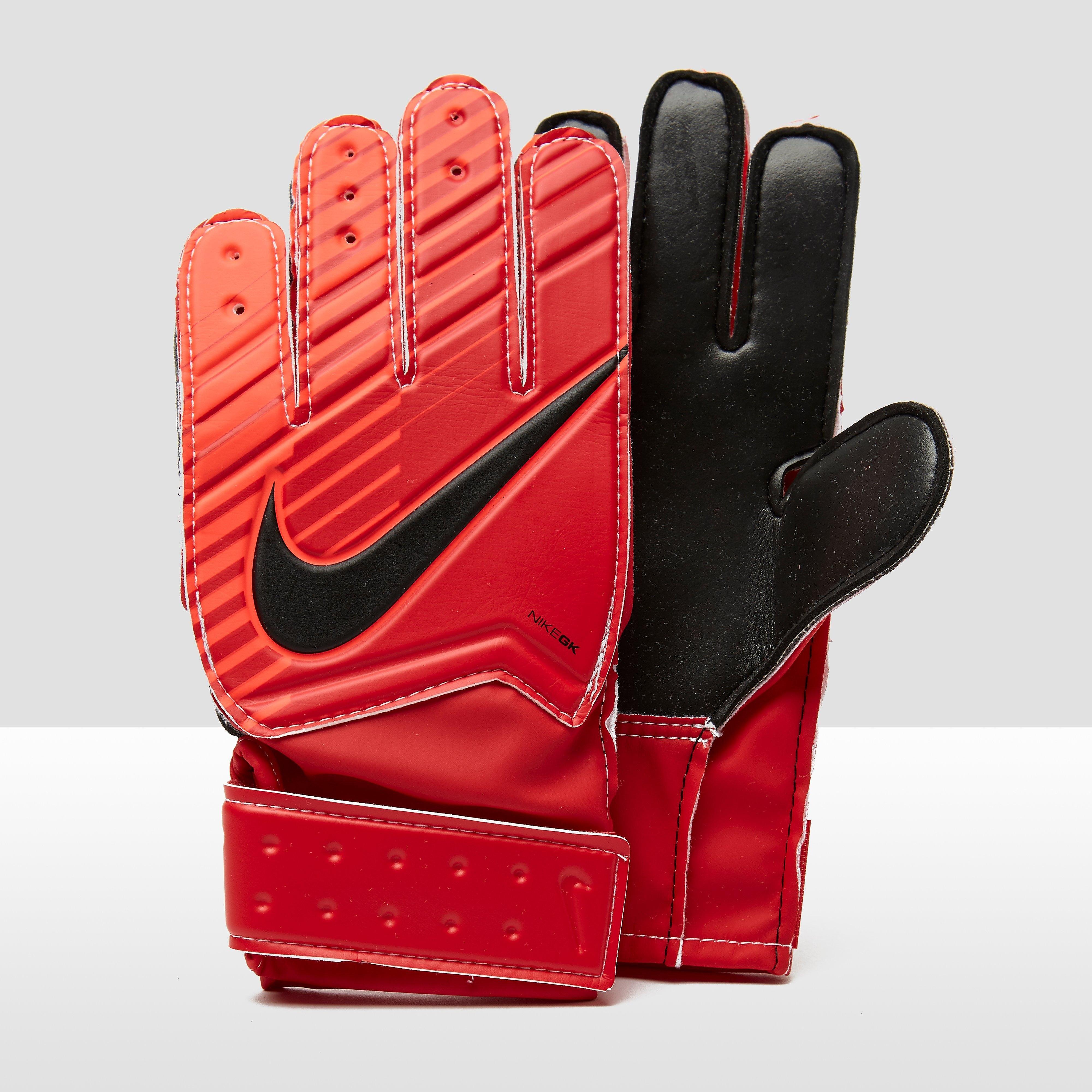 Match Keepershandschoenen Rood Kinderen. Size 7.0