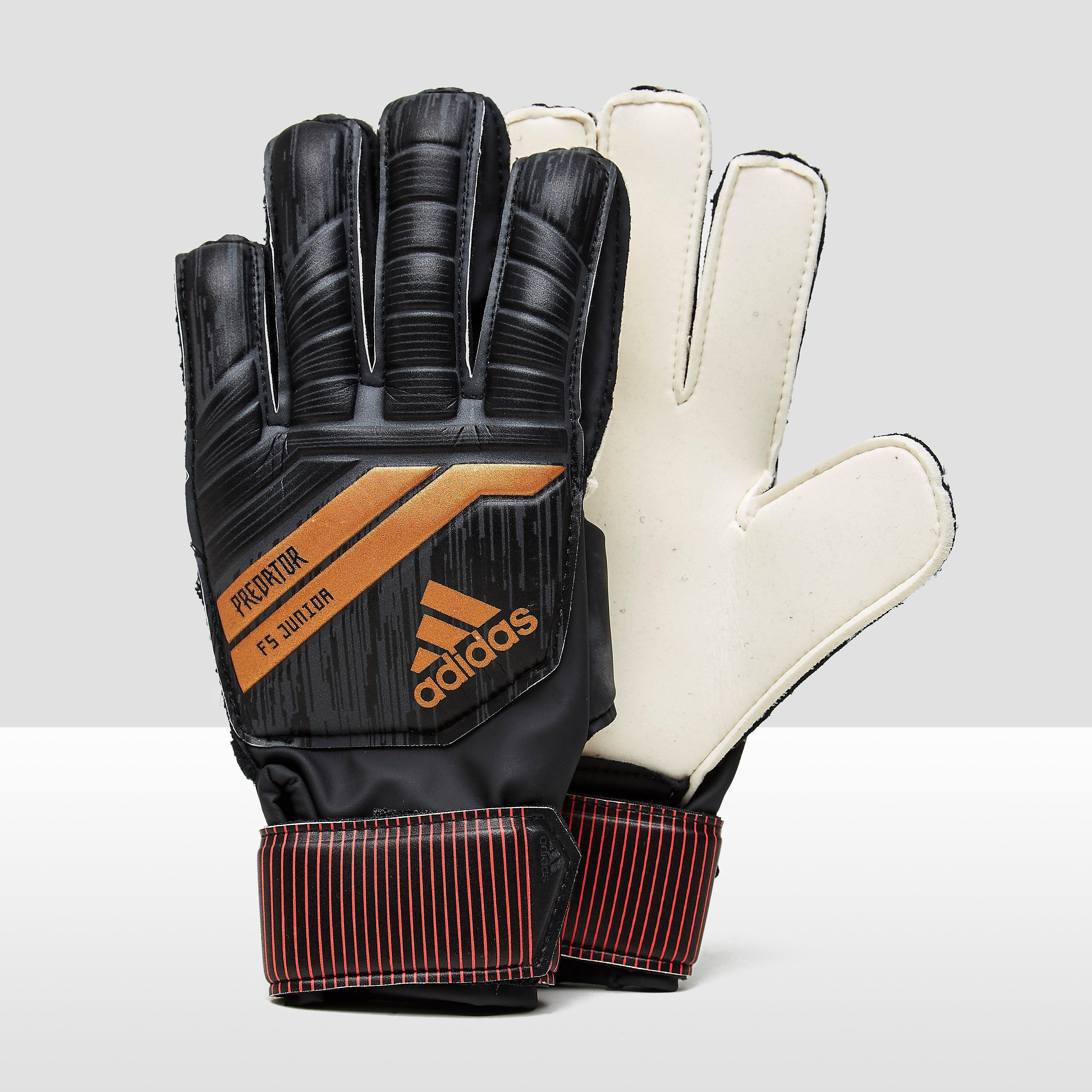 Pre Fingersave Keepershandschoenen Zwart-Goud Kinderen