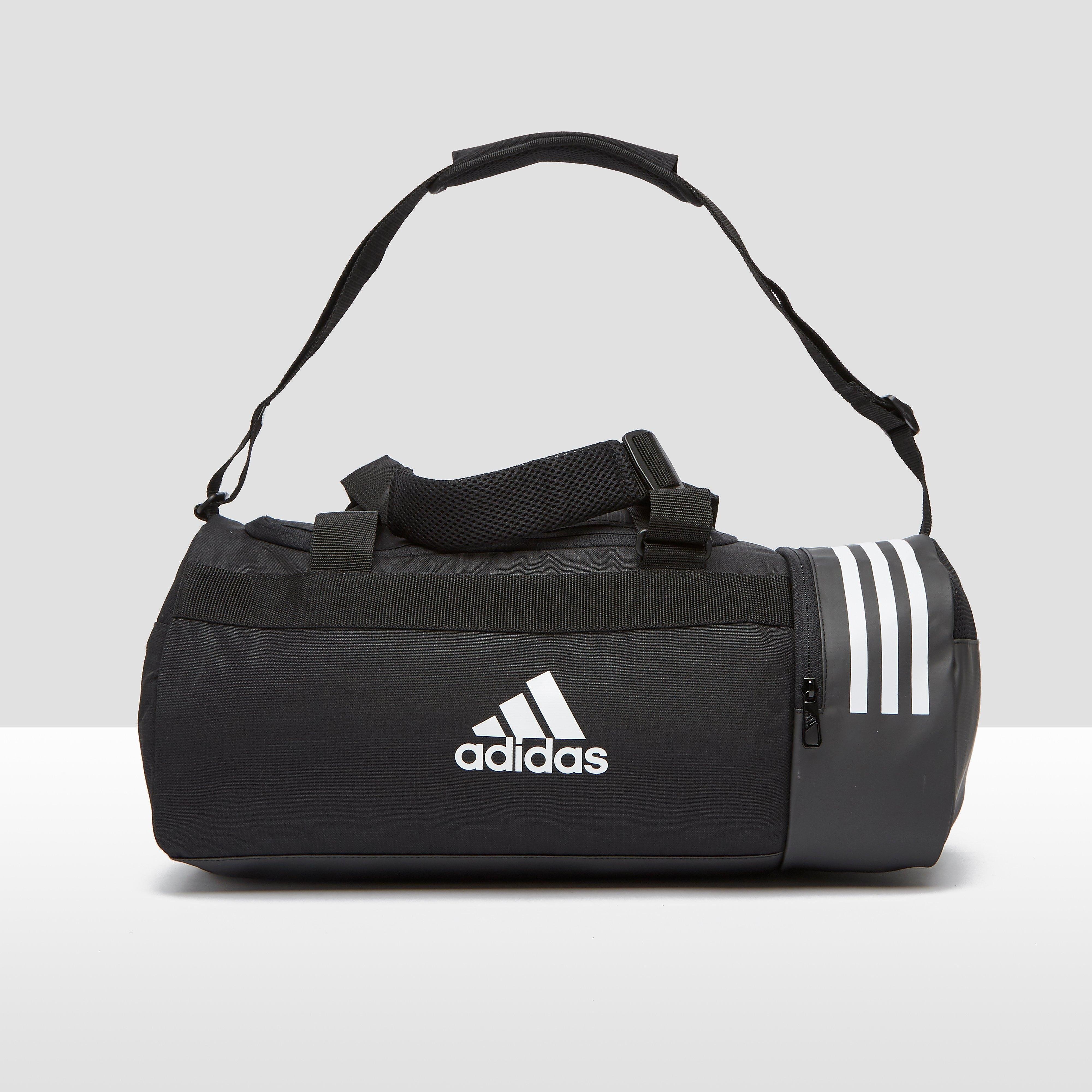 Niet zomaar een sporttas: de convertible 3 stripes sporttas van adidas onderscheidt zich van het gros door ...