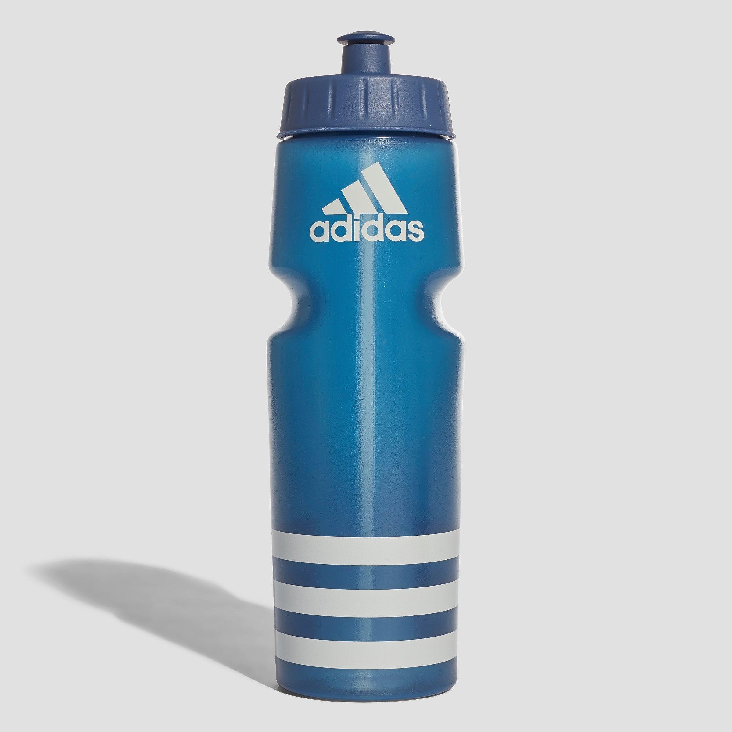3-stripes performance bidon 0,75 liter blauw