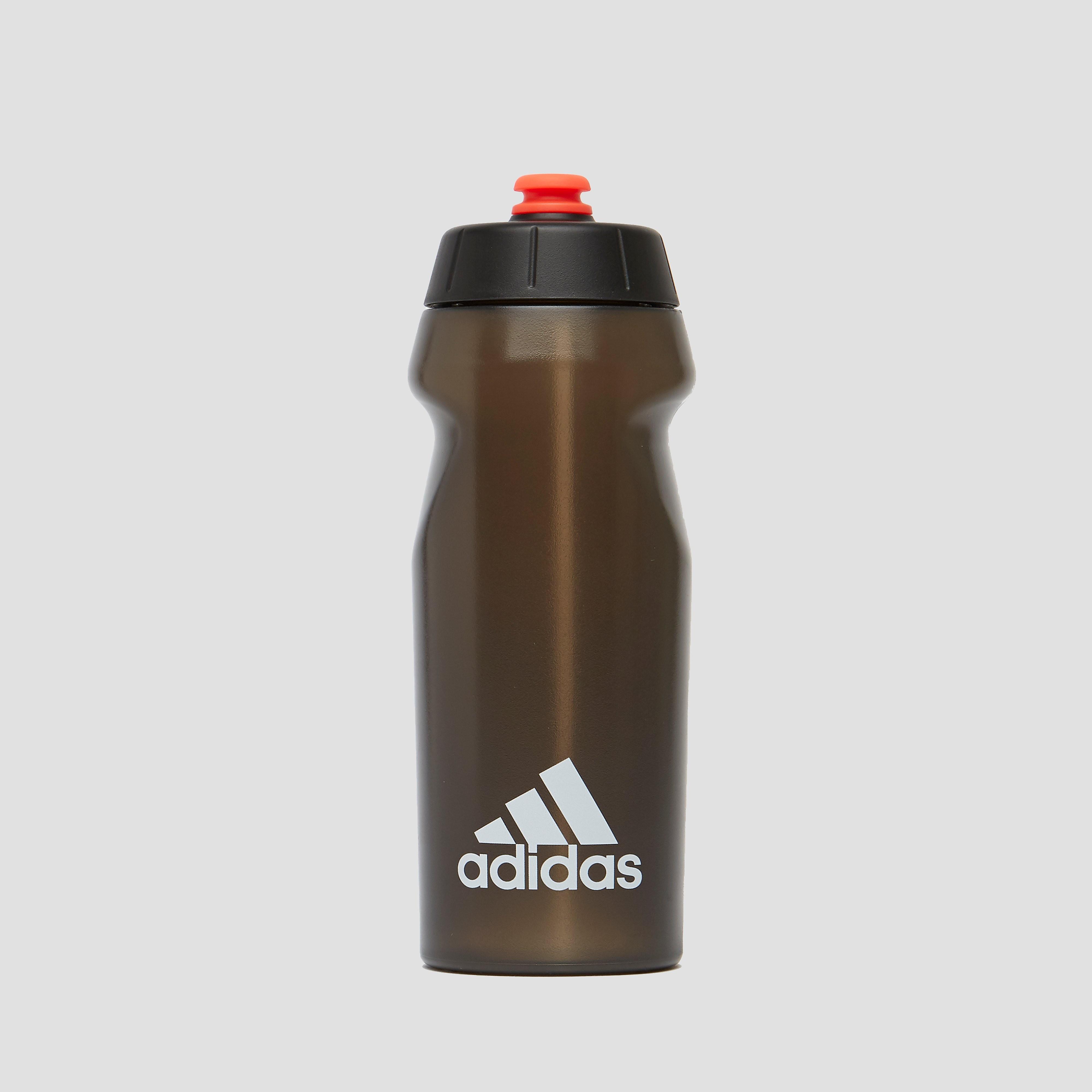 adidas Adidas performance bidon 0,5 liter wit/zwart kinderen