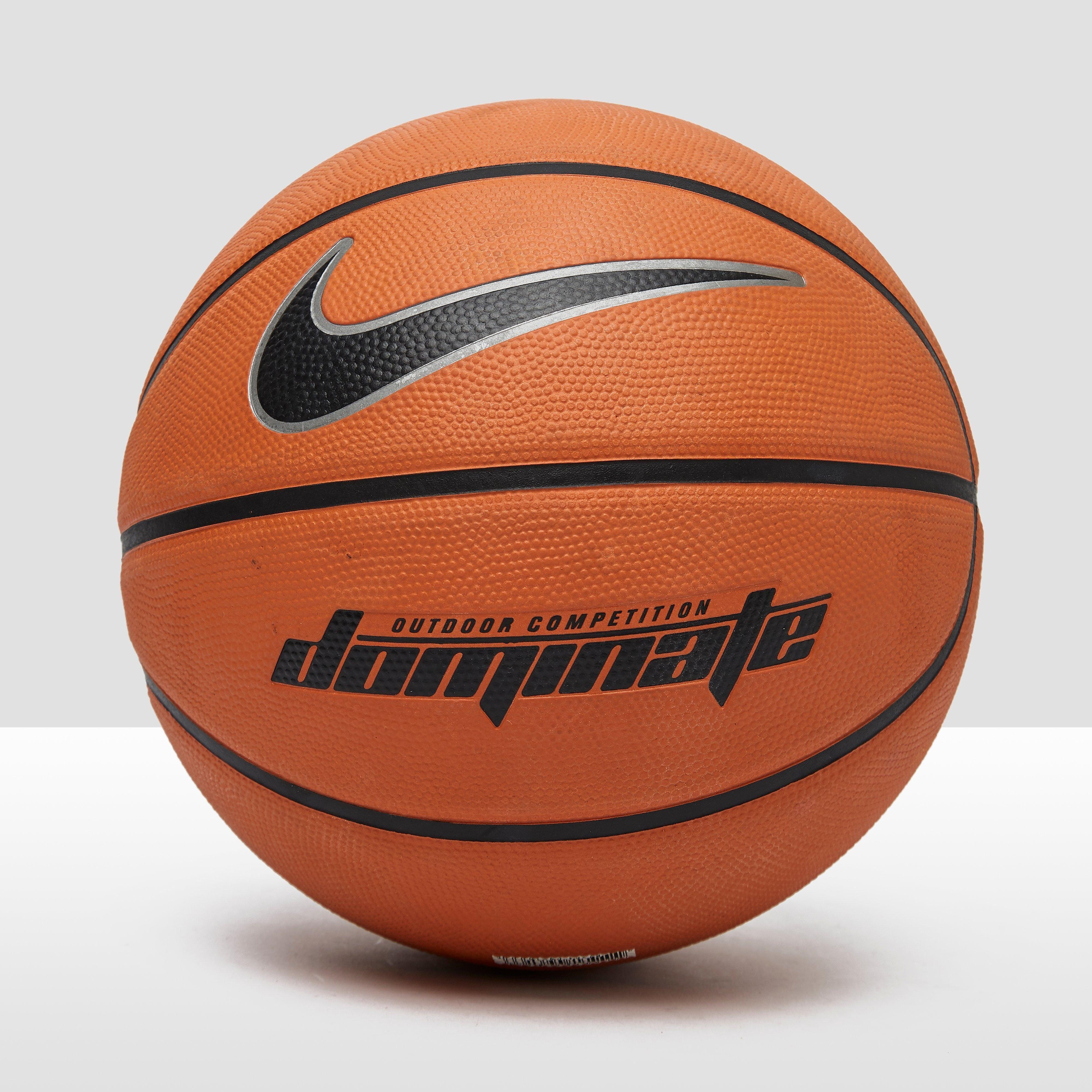 NIKE Dominate basketbal oranje/zwart Kinderen