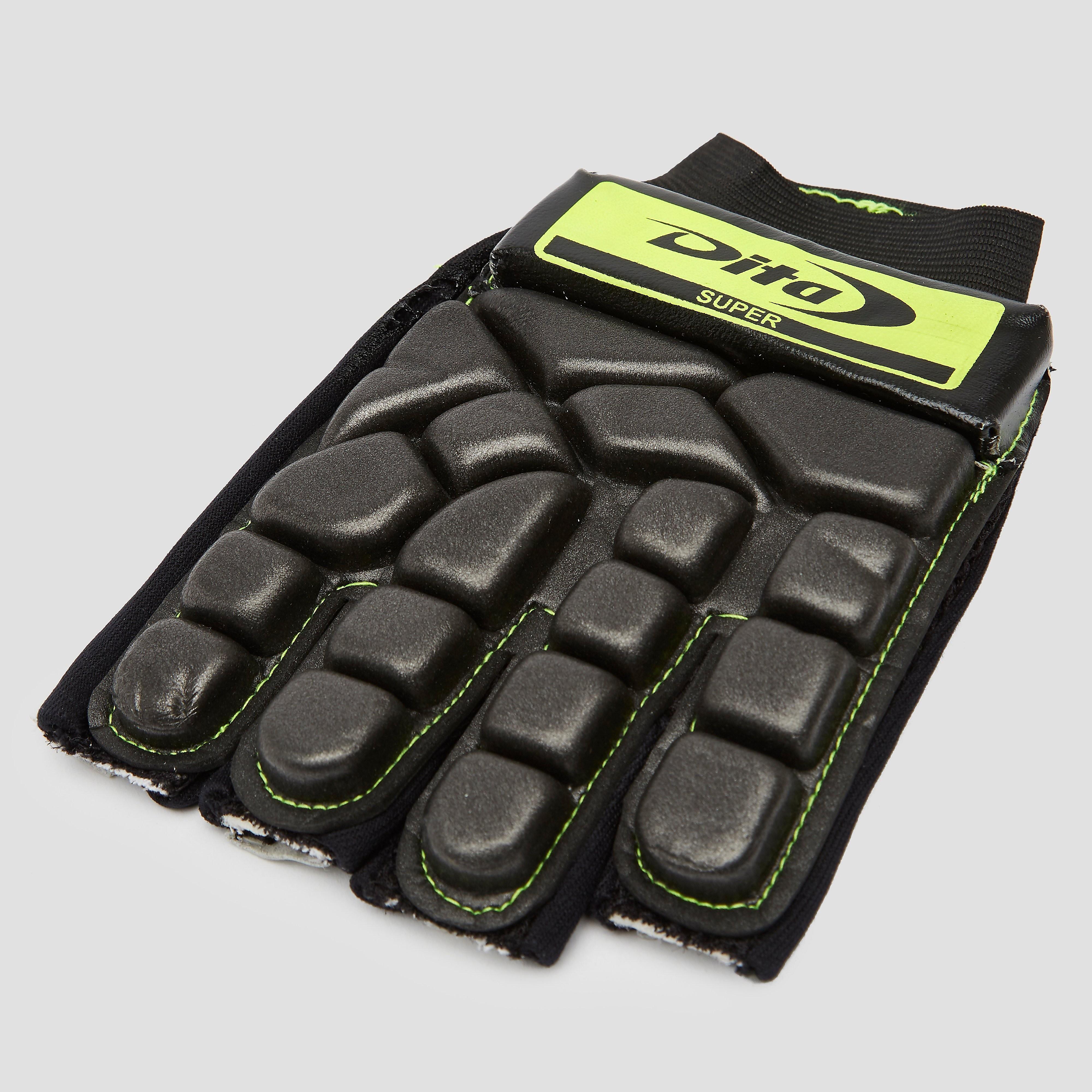 DITA Super hockeyhandschoen zwart/geel Dames