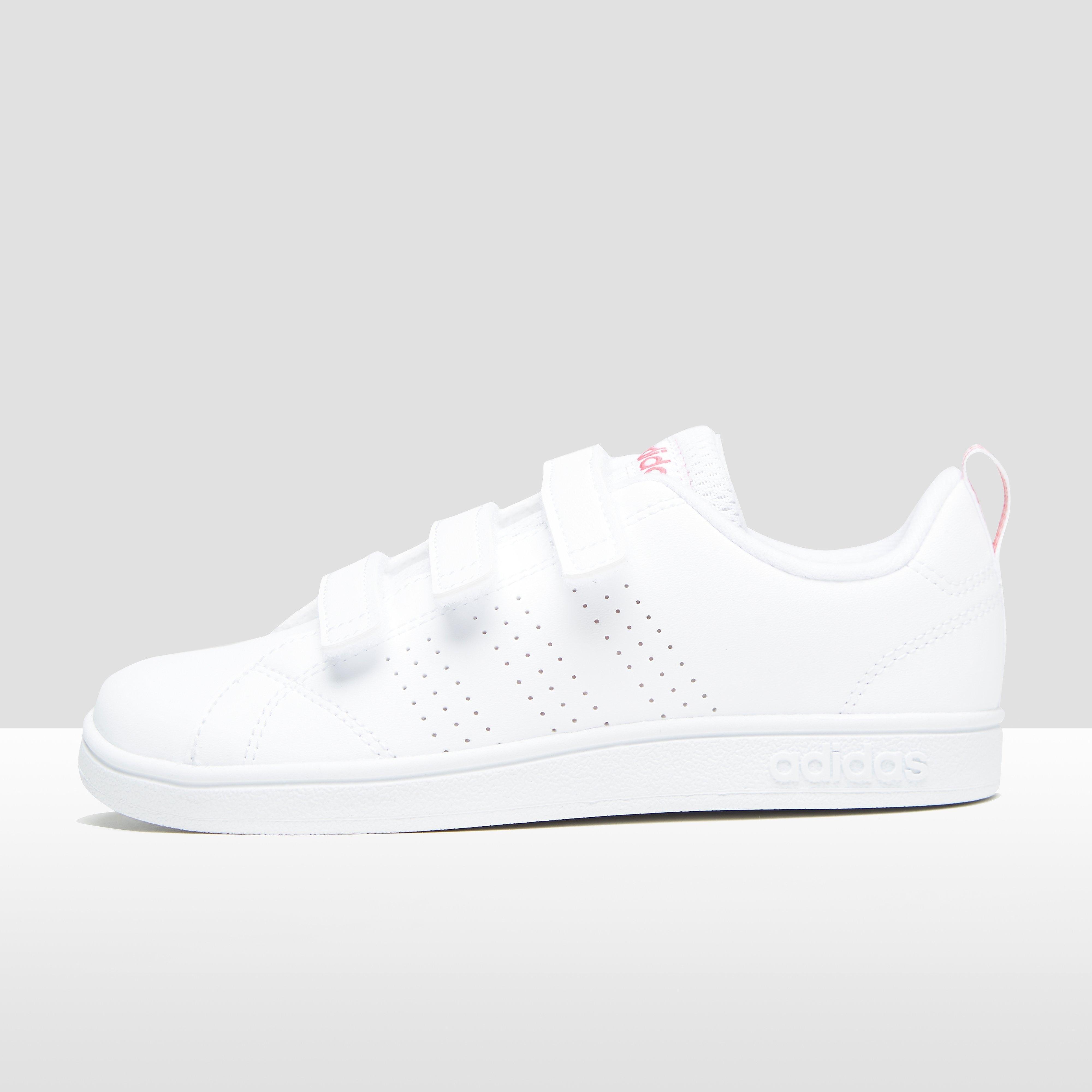Vs Advantage Clean Sneakers Wit-Roze Kinderen. Size 35