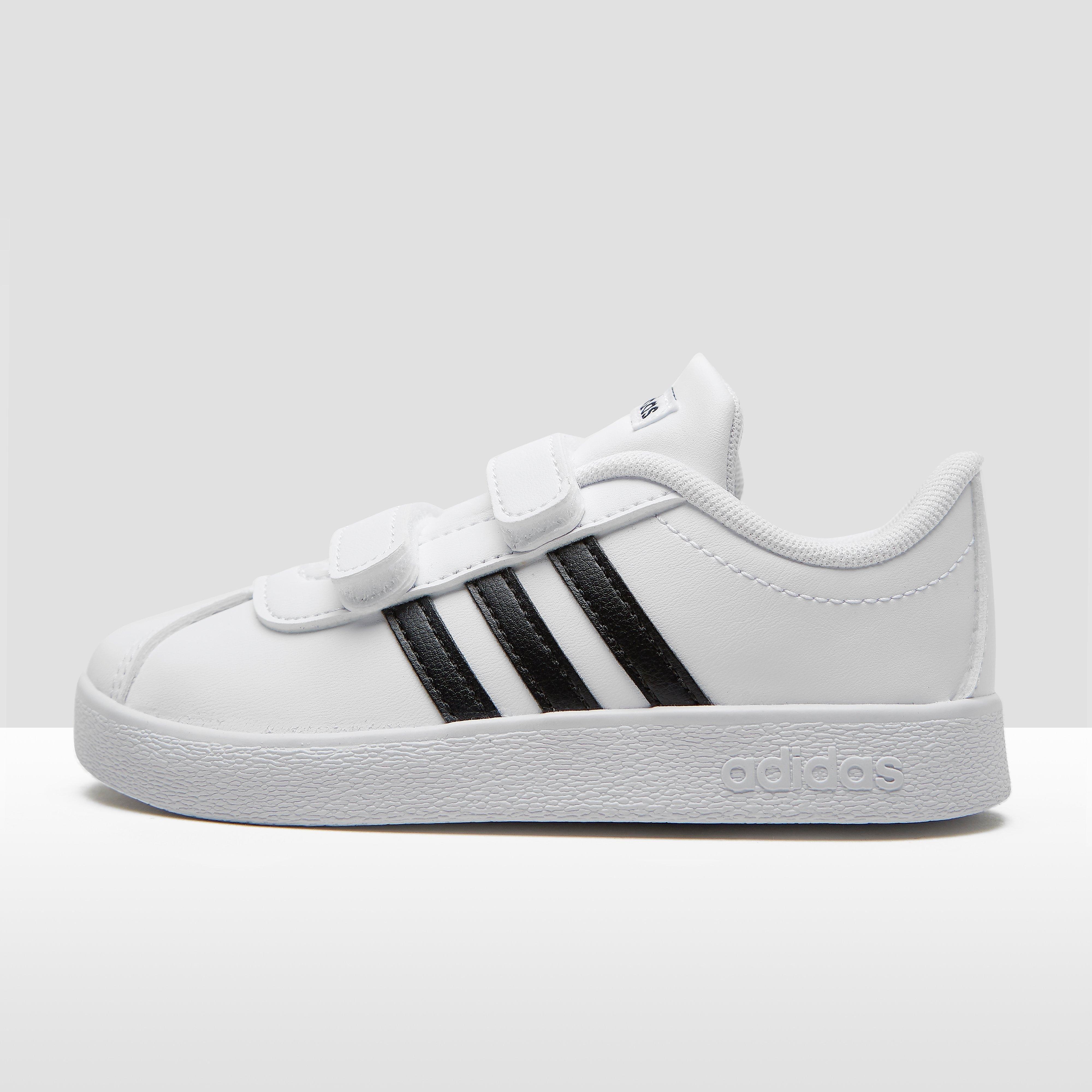 Vl Court 2.0 Sneakers Zwart-Wit Baby