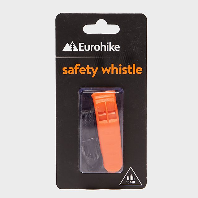 Eurohike Safety Whistle, orange