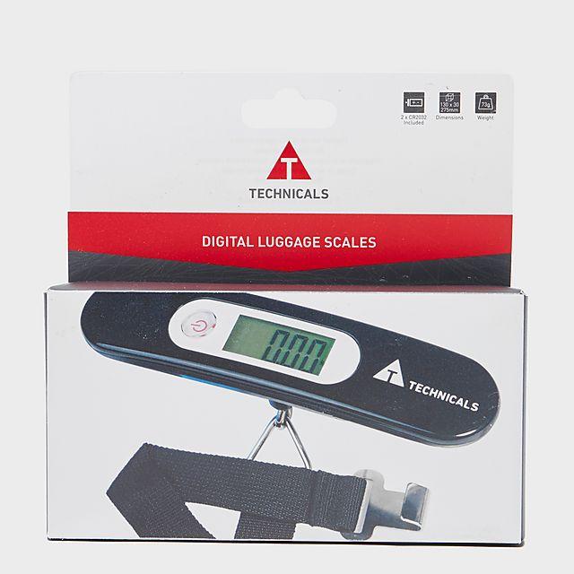 Technicals Digital Luggage Scales, BLK/BLK