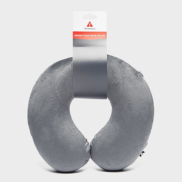 Technicals Memory Foam Travel Pillow, MGY/MGY