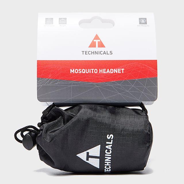 Technicals Mosquito Headnet, BLK/BLK