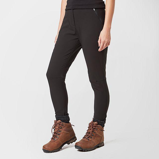 Brasher Women's Walking Leggings, BLK/BLK