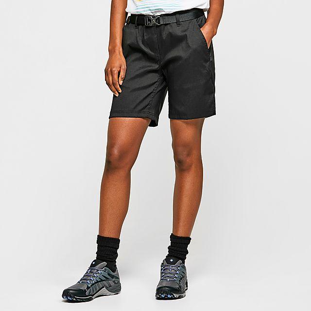 Craghoppers Women's Kiwi Pro III Shorts, BLK/BLK