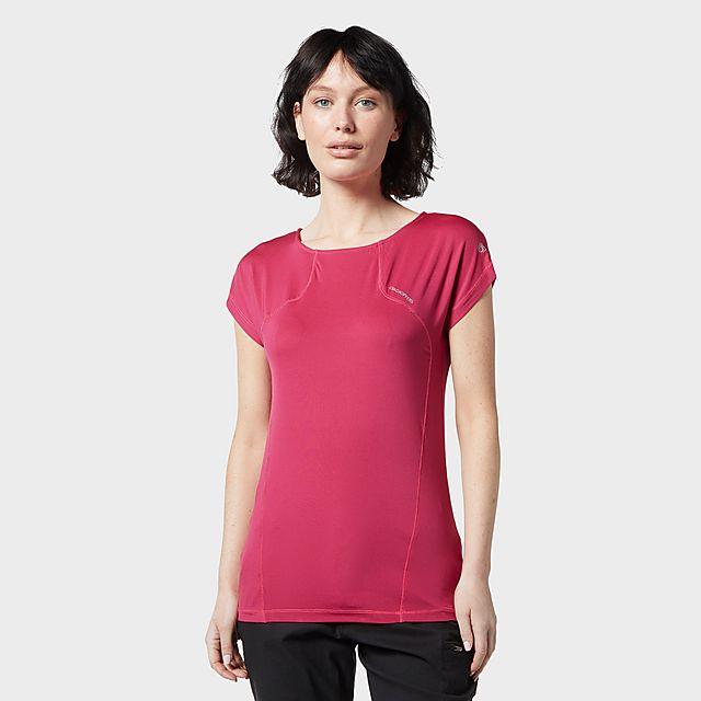 Craghoppers Women's Fusion T-Shirt, PNK/PNK