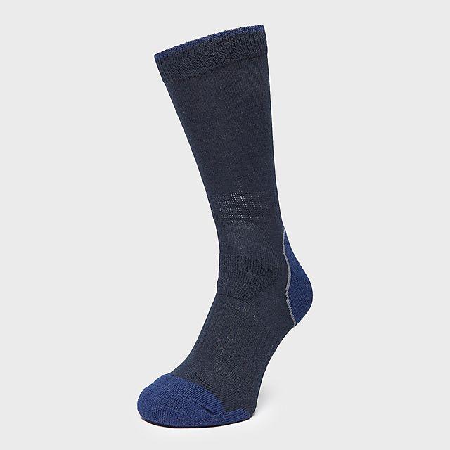 Brasher Men'S Light Hiker Socks - Blu/Blu, BLU/BLU