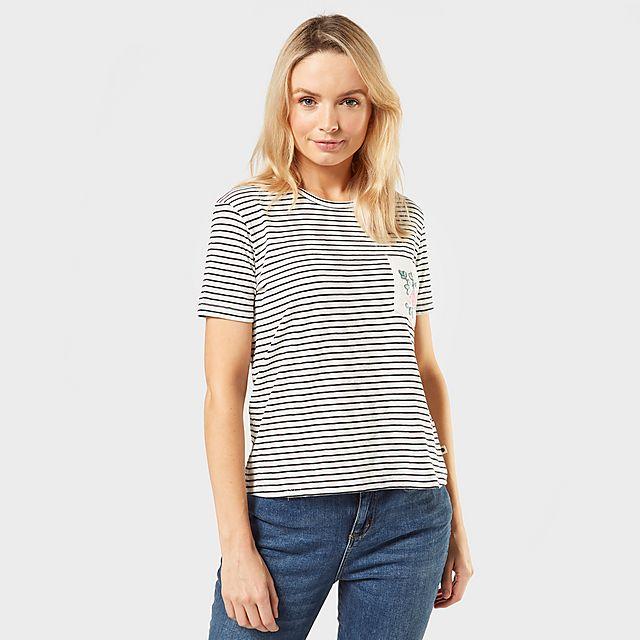 ROXY Women's Be My Love T-Shirt, GRY/GRY